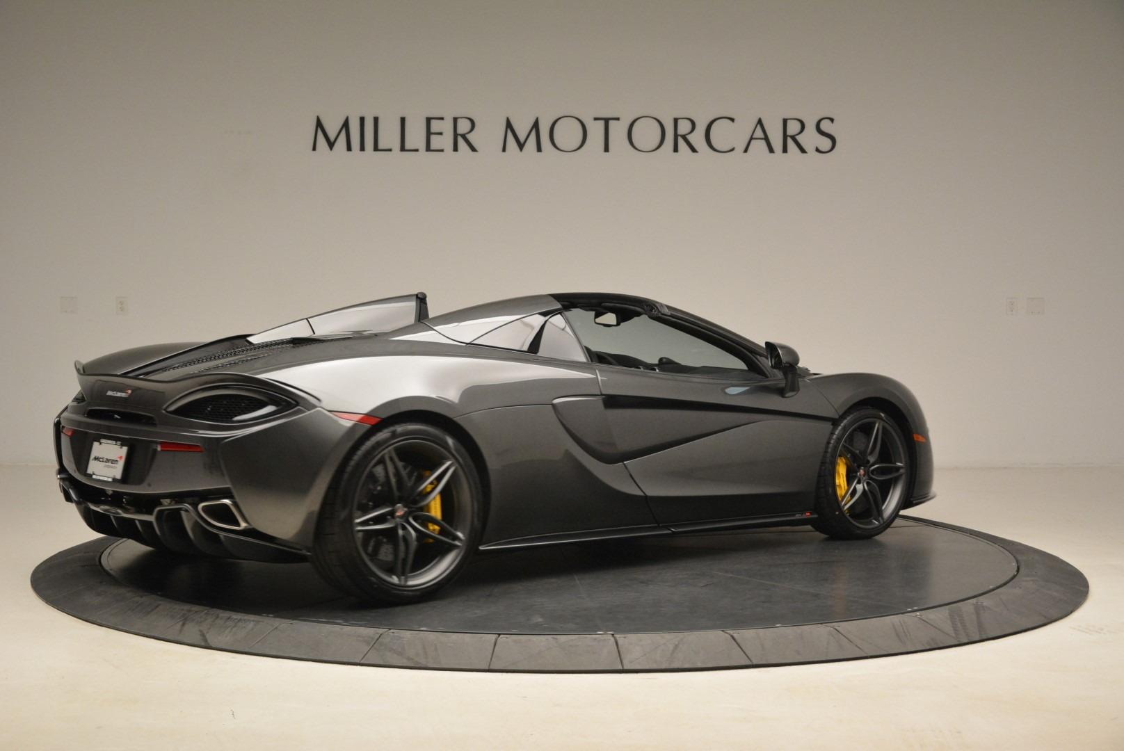 New 2018 McLaren 570S Spider For Sale In Greenwich, CT. Alfa Romeo of Greenwich, MC350 2137_p8