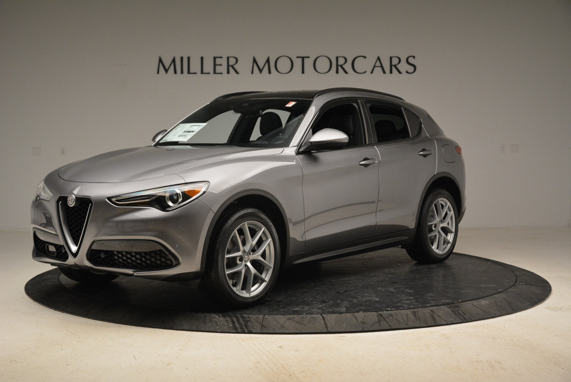 New 2018 Alfa Romeo Stelvio Ti Sport Q4 For Sale In Greenwich, CT. Alfa Romeo of Greenwich, L373