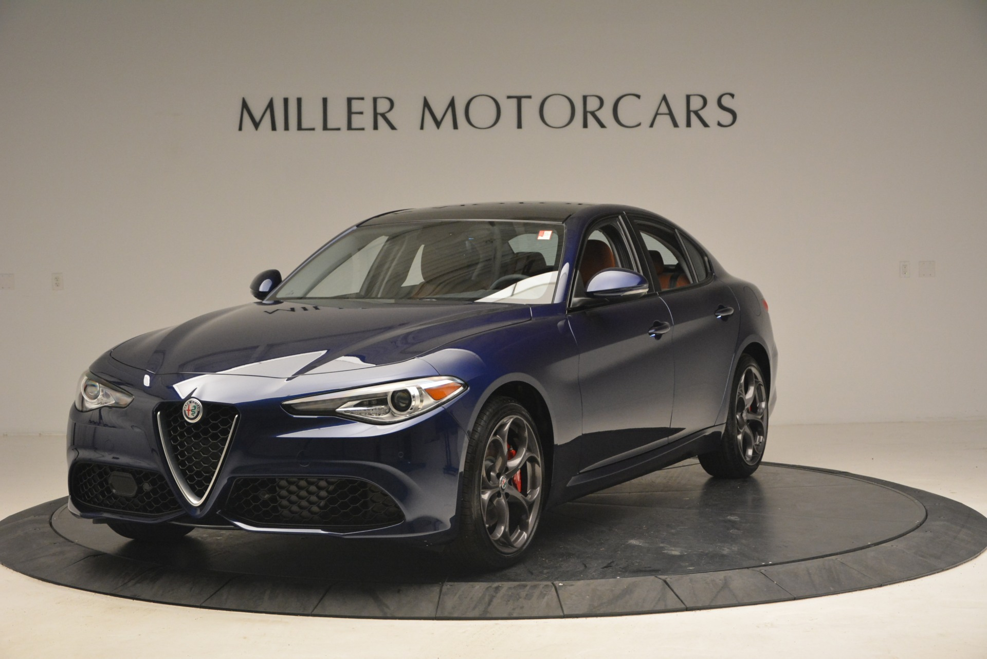 New 2018 Alfa Romeo Giulia Ti Sport Q4 For Sale In Greenwich, CT. Alfa Romeo of Greenwich, L376
