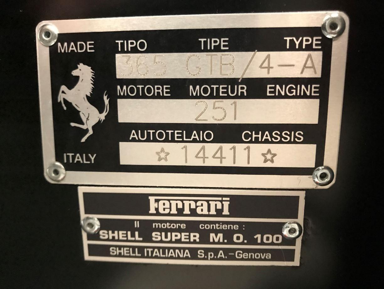 Used 1971 Ferrari 365 GTB/4 Daytona For Sale In Greenwich, CT. Alfa Romeo of Greenwich, 4423 2146_p24