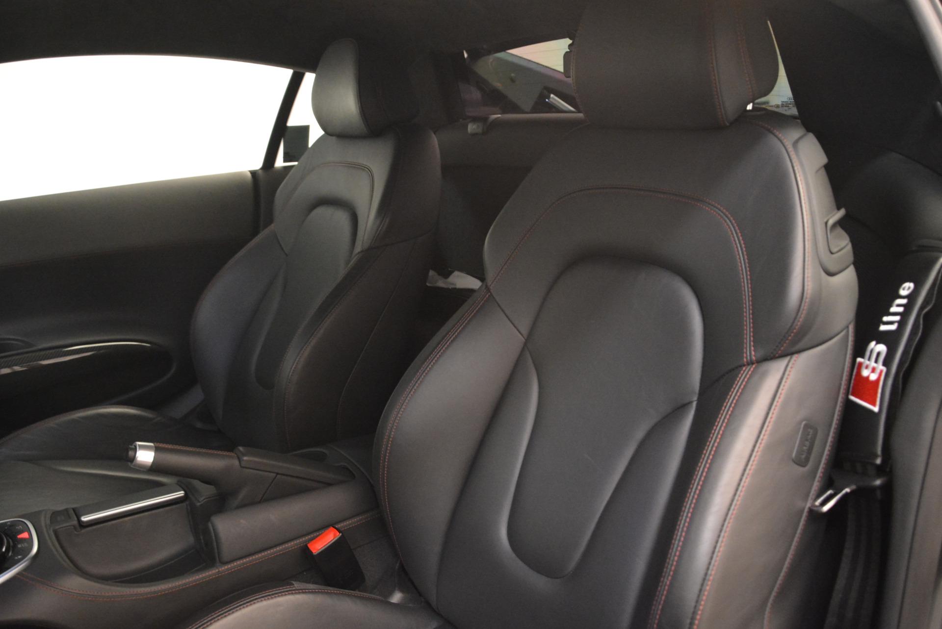Used 2014 Audi R8 5.2 quattro For Sale In Greenwich, CT. Alfa Romeo of Greenwich, 4416A 2147_p16