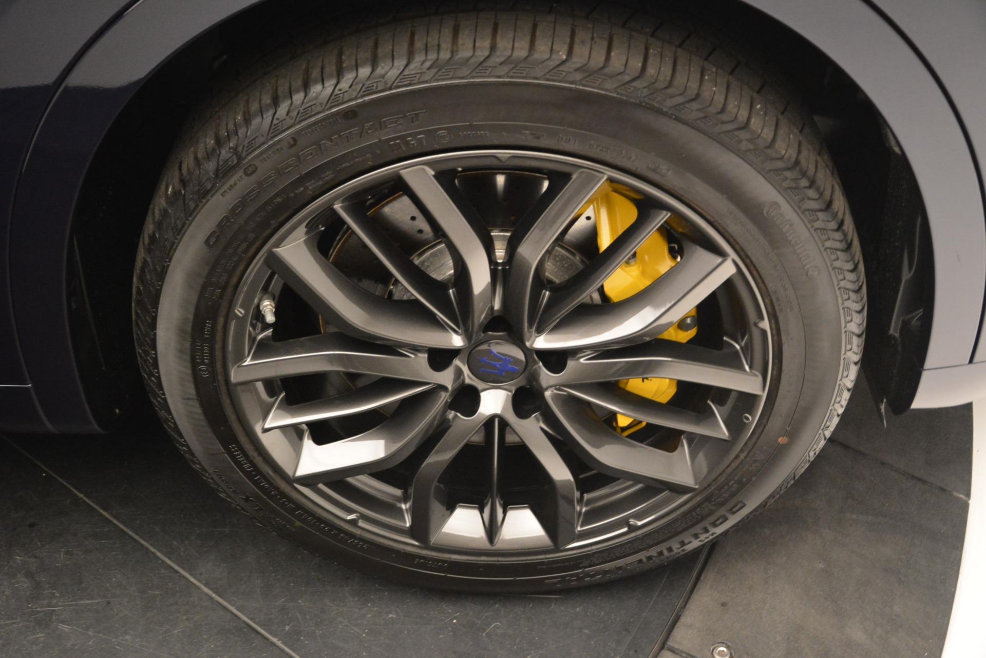 New 2018 Maserati Levante S Q4 GranSport For Sale In Greenwich, CT. Alfa Romeo of Greenwich, M2093 2171_p30