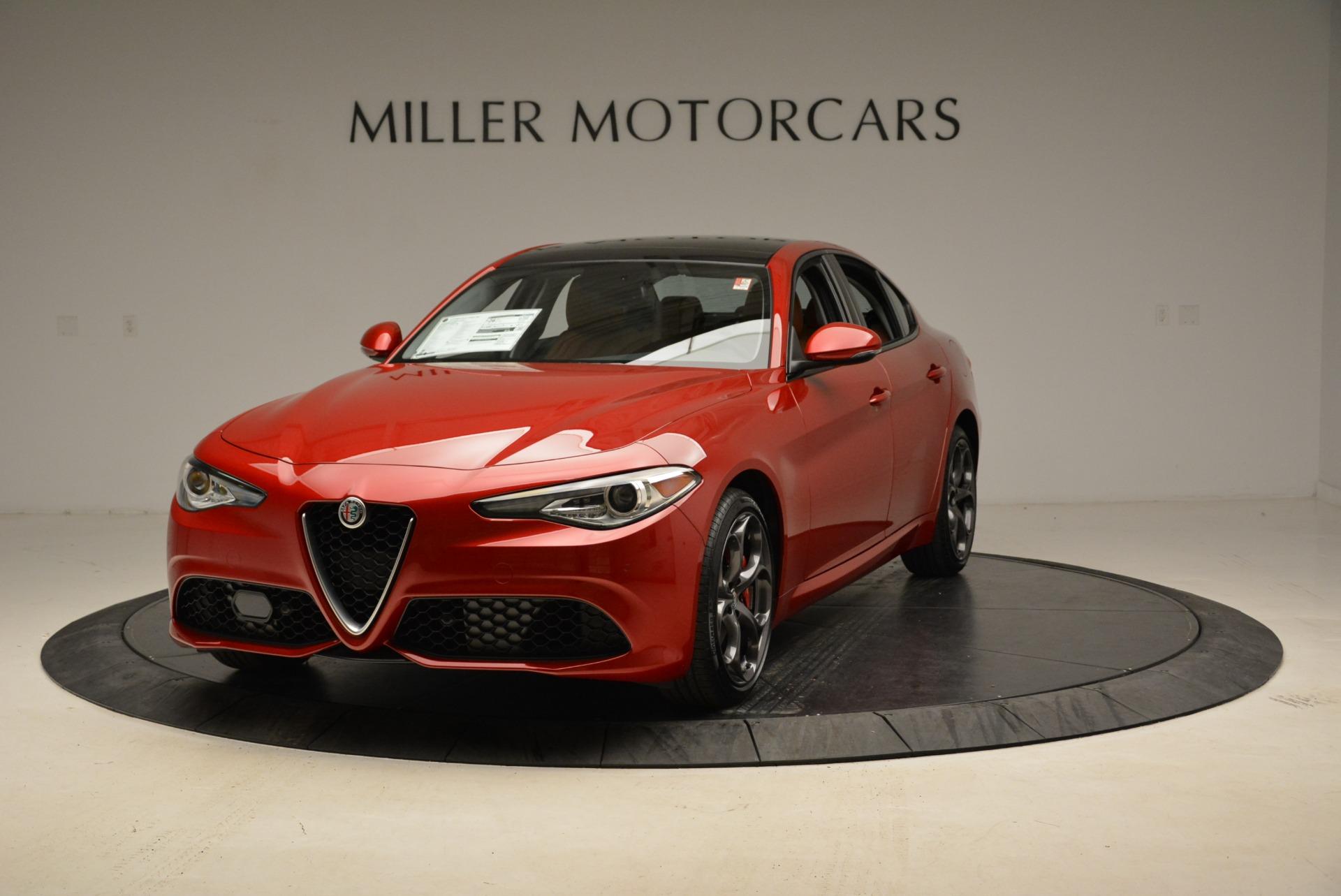 New 2018 Alfa Romeo Giulia Ti Sport Q4 For Sale In Greenwich, CT. Alfa Romeo of Greenwich, L383 2173_main