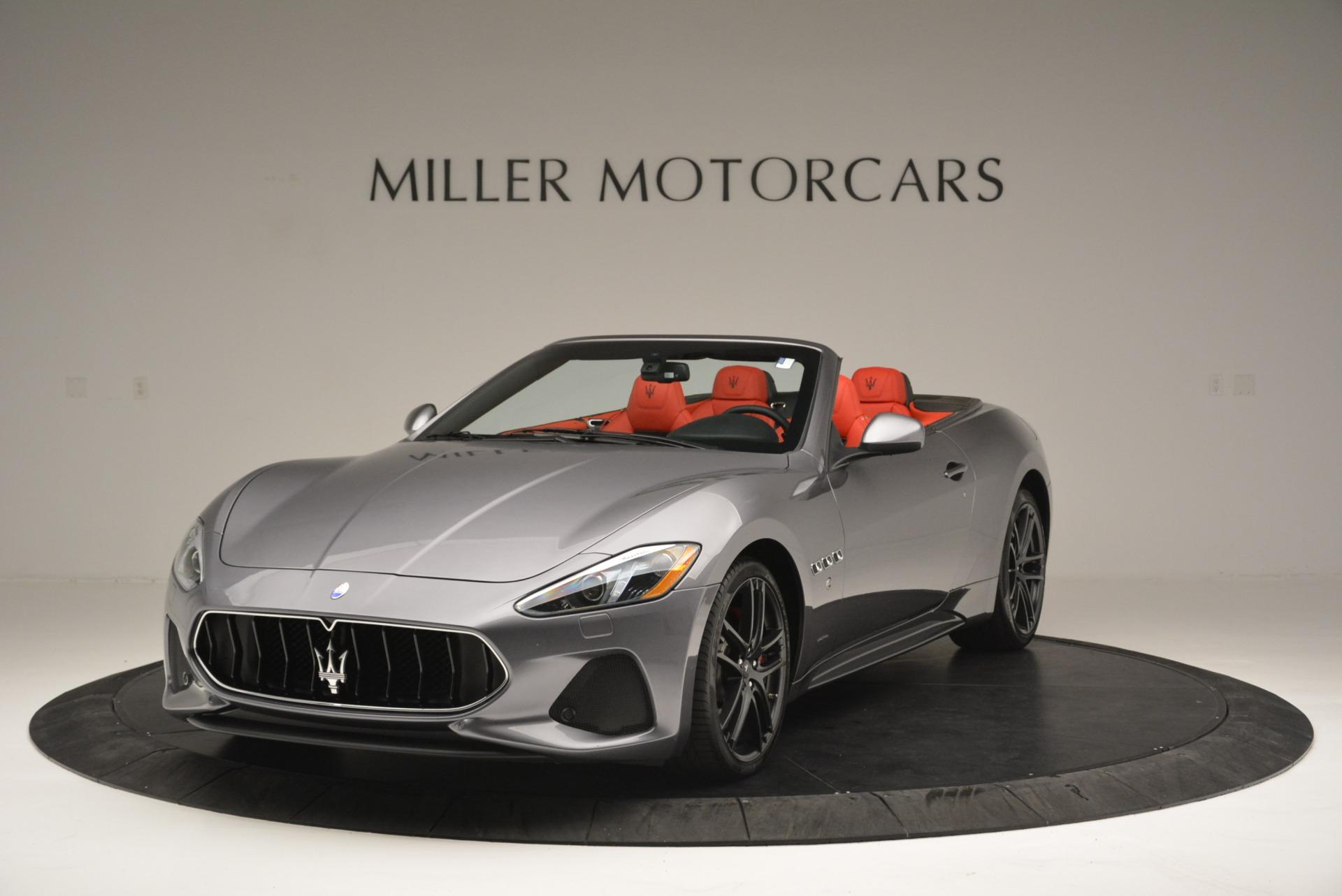 New 2018 Maserati GranTurismo Sport Convertible For Sale In Greenwich, CT. Alfa Romeo of Greenwich, W582 2182_main