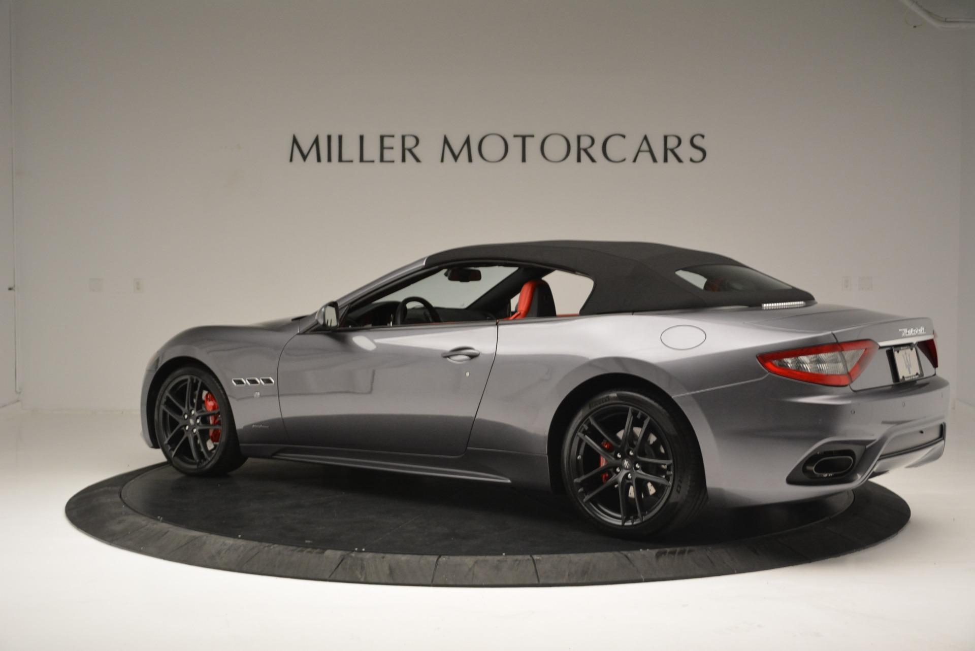 New 2018 Maserati GranTurismo Sport Convertible For Sale In Greenwich, CT. Alfa Romeo of Greenwich, W582 2182_p16