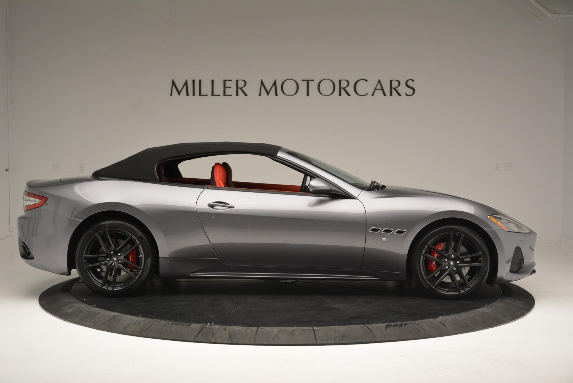 New 2018 Maserati GranTurismo Sport Convertible For Sale In Greenwich, CT. Alfa Romeo of Greenwich, W582 2182_p21
