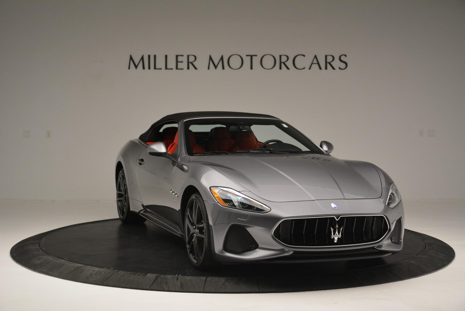 New 2018 Maserati GranTurismo Sport Convertible For Sale In Greenwich, CT. Alfa Romeo of Greenwich, W582 2182_p23