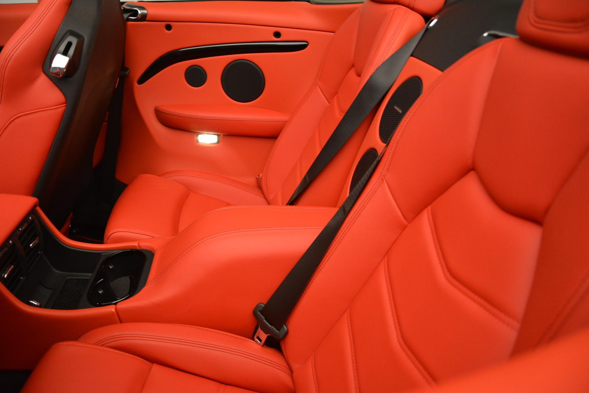 New 2018 Maserati GranTurismo Sport Convertible For Sale In Greenwich, CT. Alfa Romeo of Greenwich, W582 2182_p29