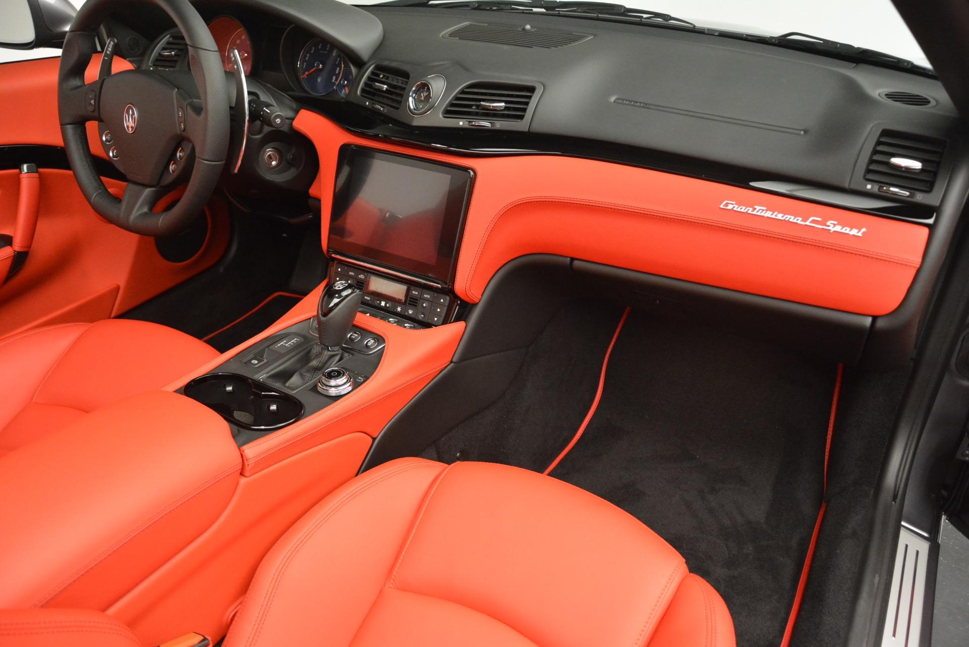 New 2018 Maserati GranTurismo Sport Convertible For Sale In Greenwich, CT. Alfa Romeo of Greenwich, W582 2182_p32