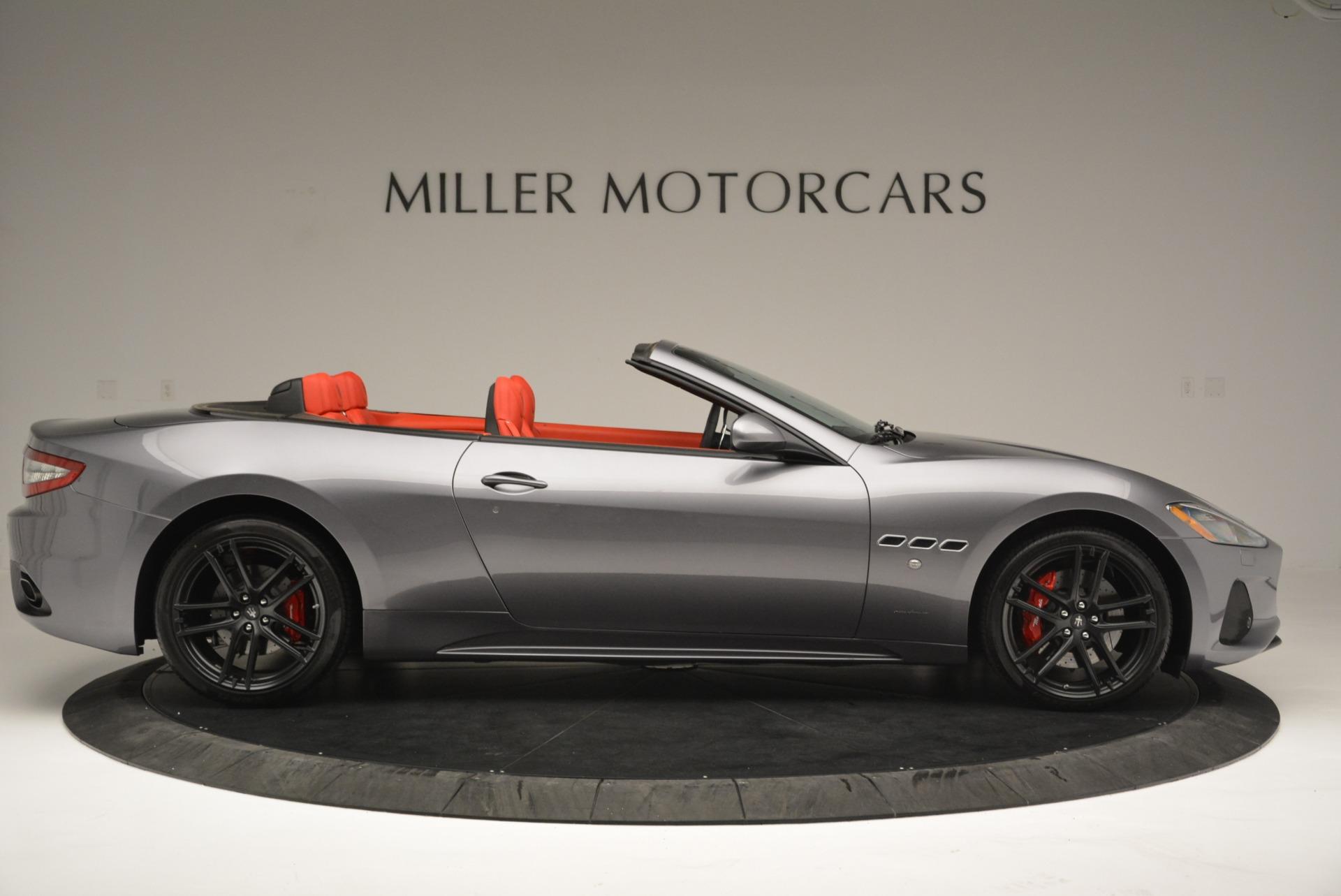 New 2018 Maserati GranTurismo Sport Convertible For Sale In Greenwich, CT. Alfa Romeo of Greenwich, W582 2182_p9