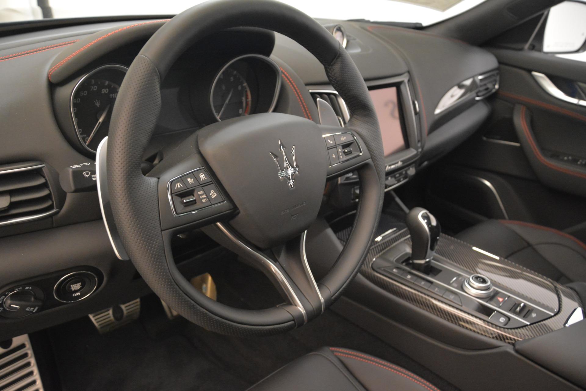 New 2018 Maserati Levante S Q4 GranSport For Sale In Greenwich, CT. Alfa Romeo of Greenwich, W583 2183_p18