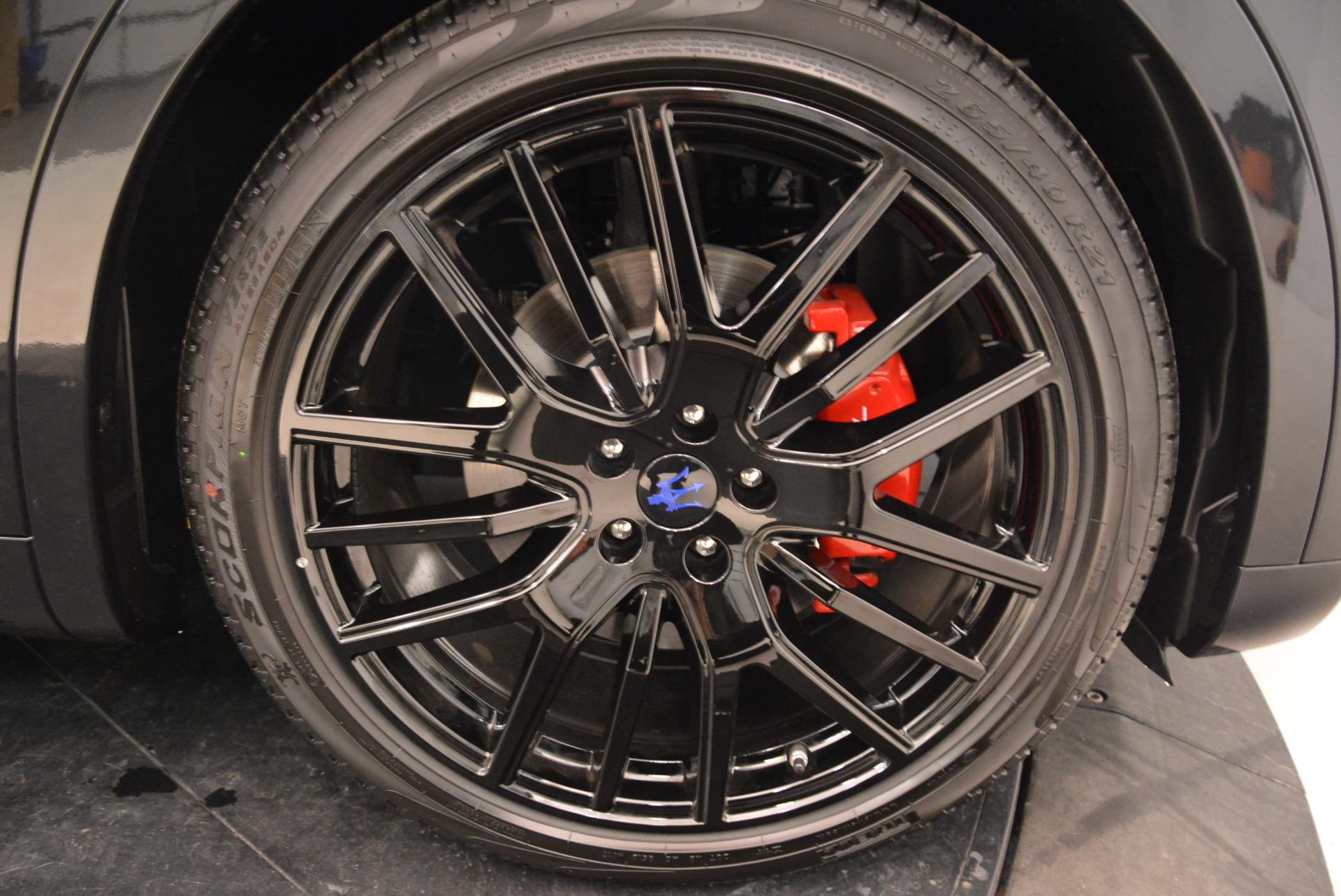 New 2018 Maserati Levante S Q4 GranSport For Sale In Greenwich, CT. Alfa Romeo of Greenwich, W583 2183_p28
