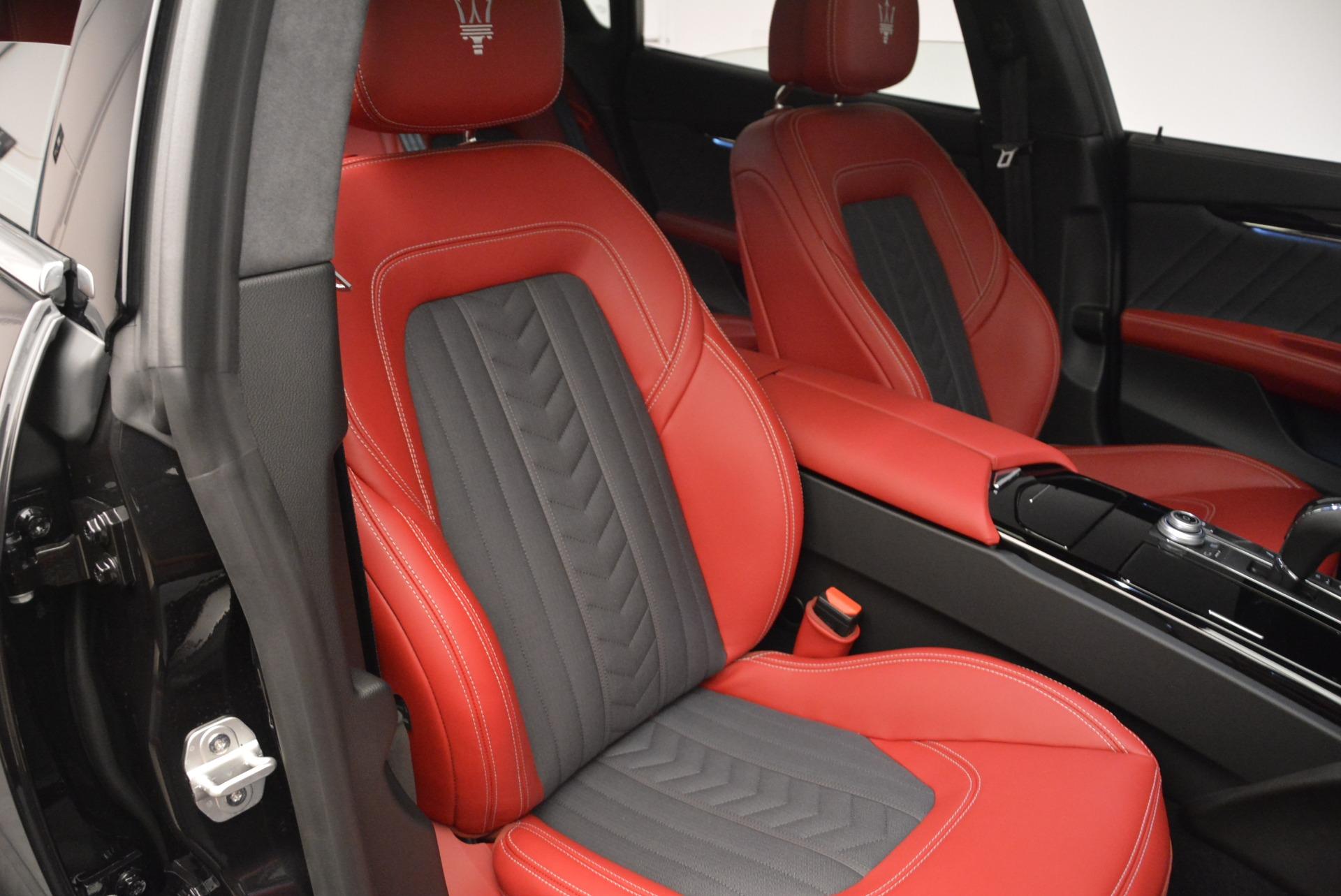 New 2018 Maserati Quattroporte S Q4 GranLusso For Sale In Greenwich, CT. Alfa Romeo of Greenwich, M2095 2186_p23
