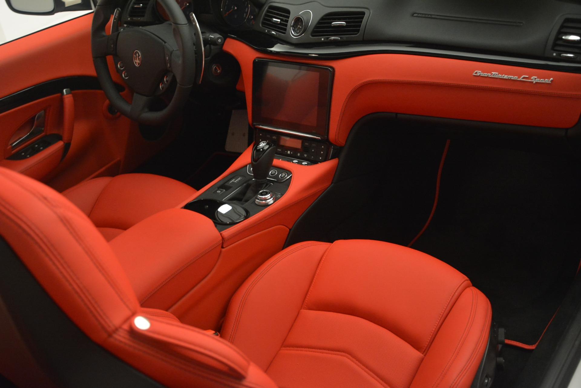 New 2018 Maserati GranTurismo Sport For Sale In Greenwich, CT. Alfa Romeo of Greenwich, M2094 2187_p22