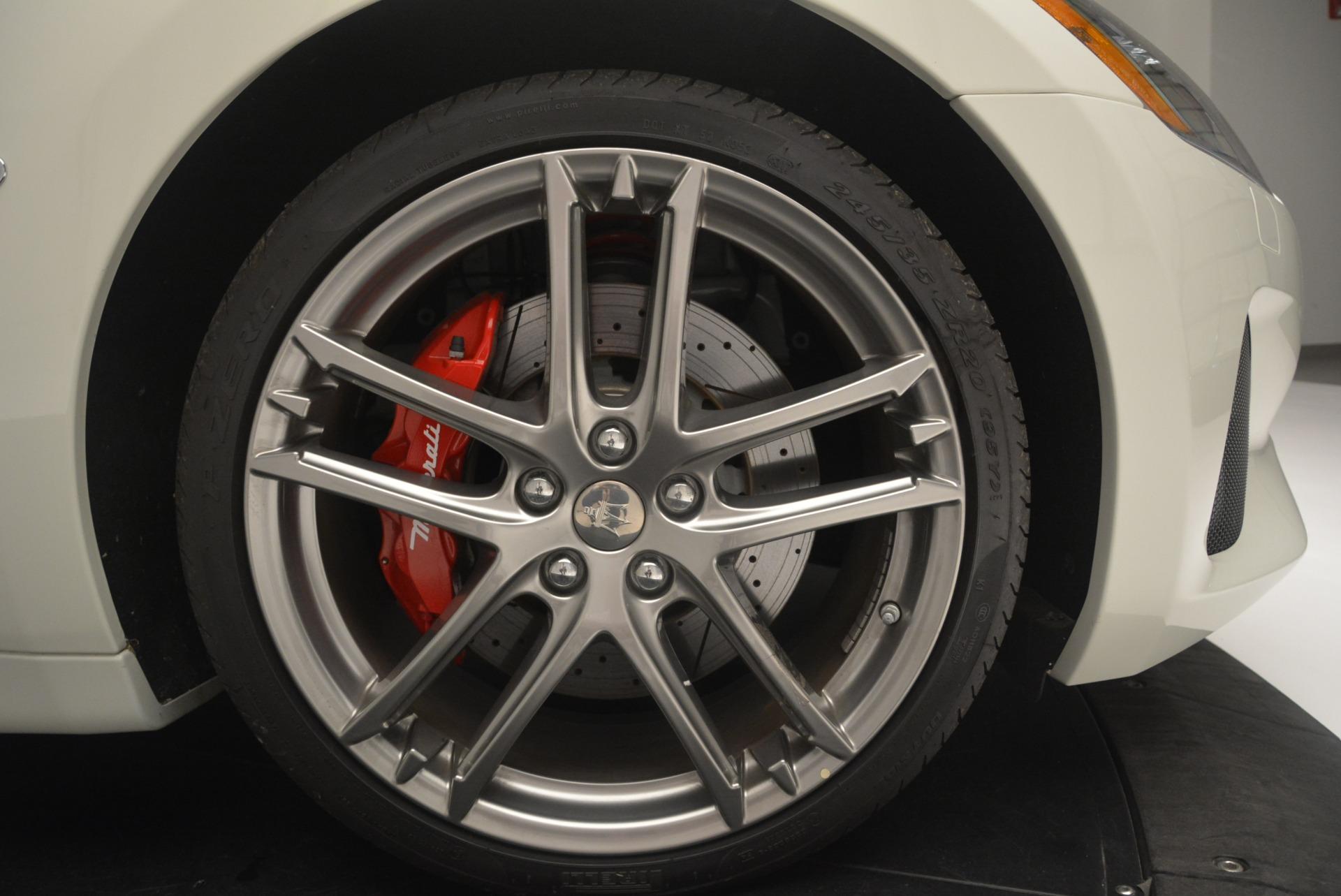 New 2018 Maserati GranTurismo Sport For Sale In Greenwich, CT. Alfa Romeo of Greenwich, M2094 2187_p25