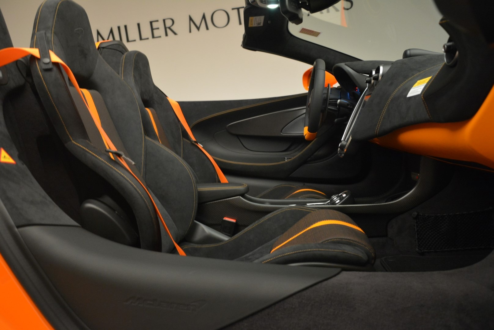 Used 2018 McLaren 570S Spider Convertible For Sale In Greenwich, CT. Alfa Romeo of Greenwich, MC405A 2188_p30