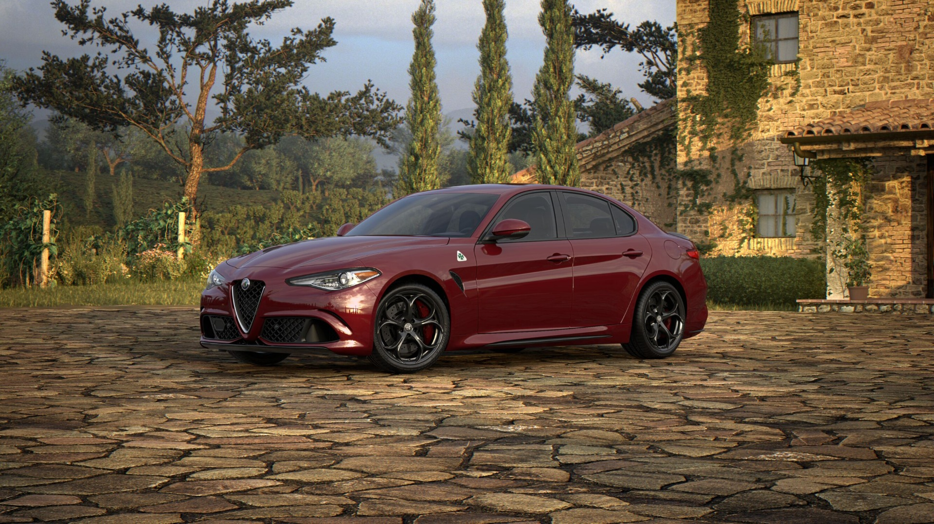 New 2018 Alfa Romeo Giulia Quadrifoglio For Sale In Greenwich, CT. Alfa Romeo of Greenwich, L387