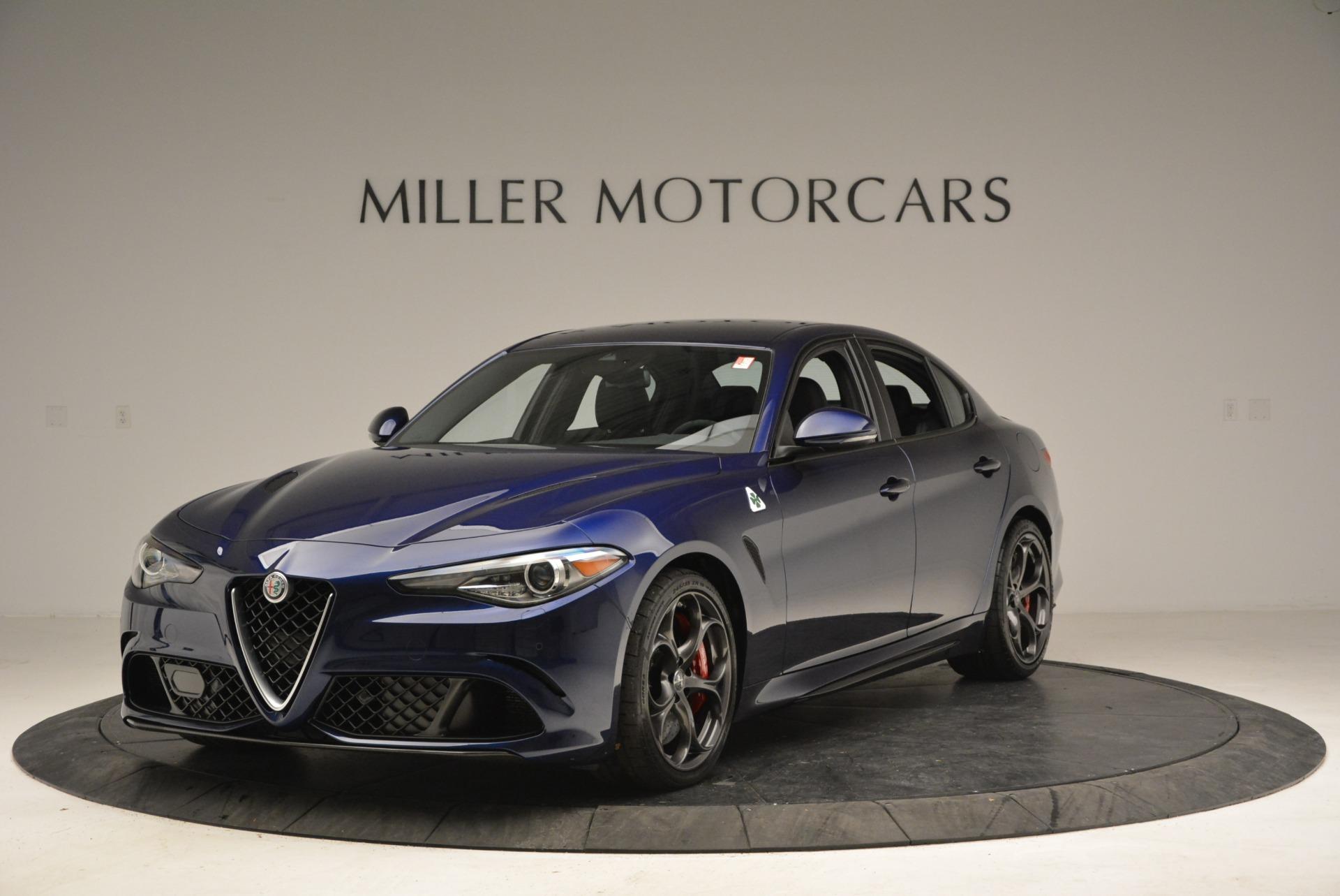 New 2018 Alfa Romeo Giulia Quadrifoglio For Sale In Greenwich, CT. Alfa Romeo of Greenwich, L388 2192_main