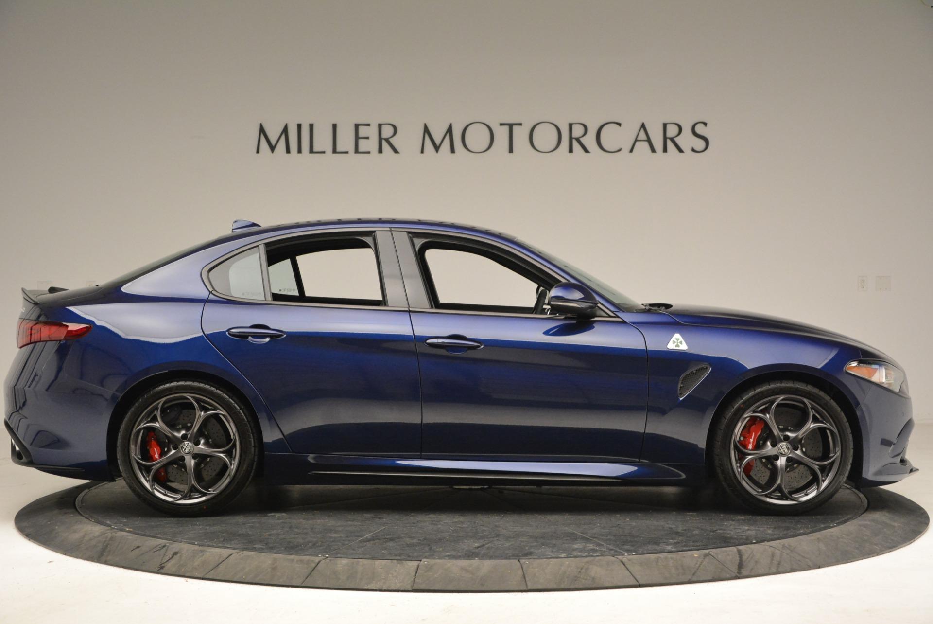 New 2018 Alfa Romeo Giulia Quadrifoglio For Sale In Greenwich, CT. Alfa Romeo of Greenwich, L388 2192_p9