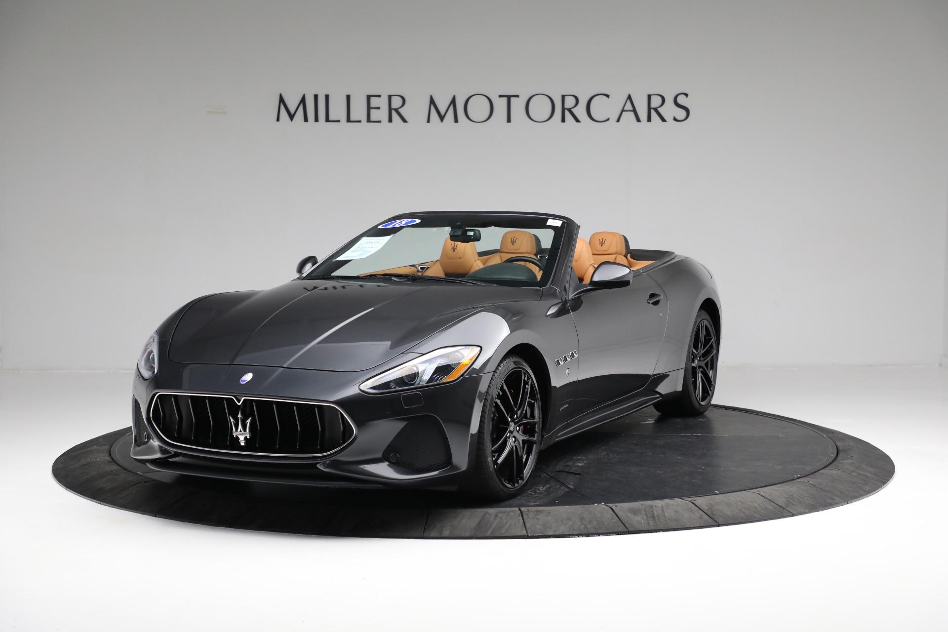 New 2018 Maserati GranTurismo Sport Convertible For Sale In Greenwich, CT. Alfa Romeo of Greenwich, M2101 2198_main