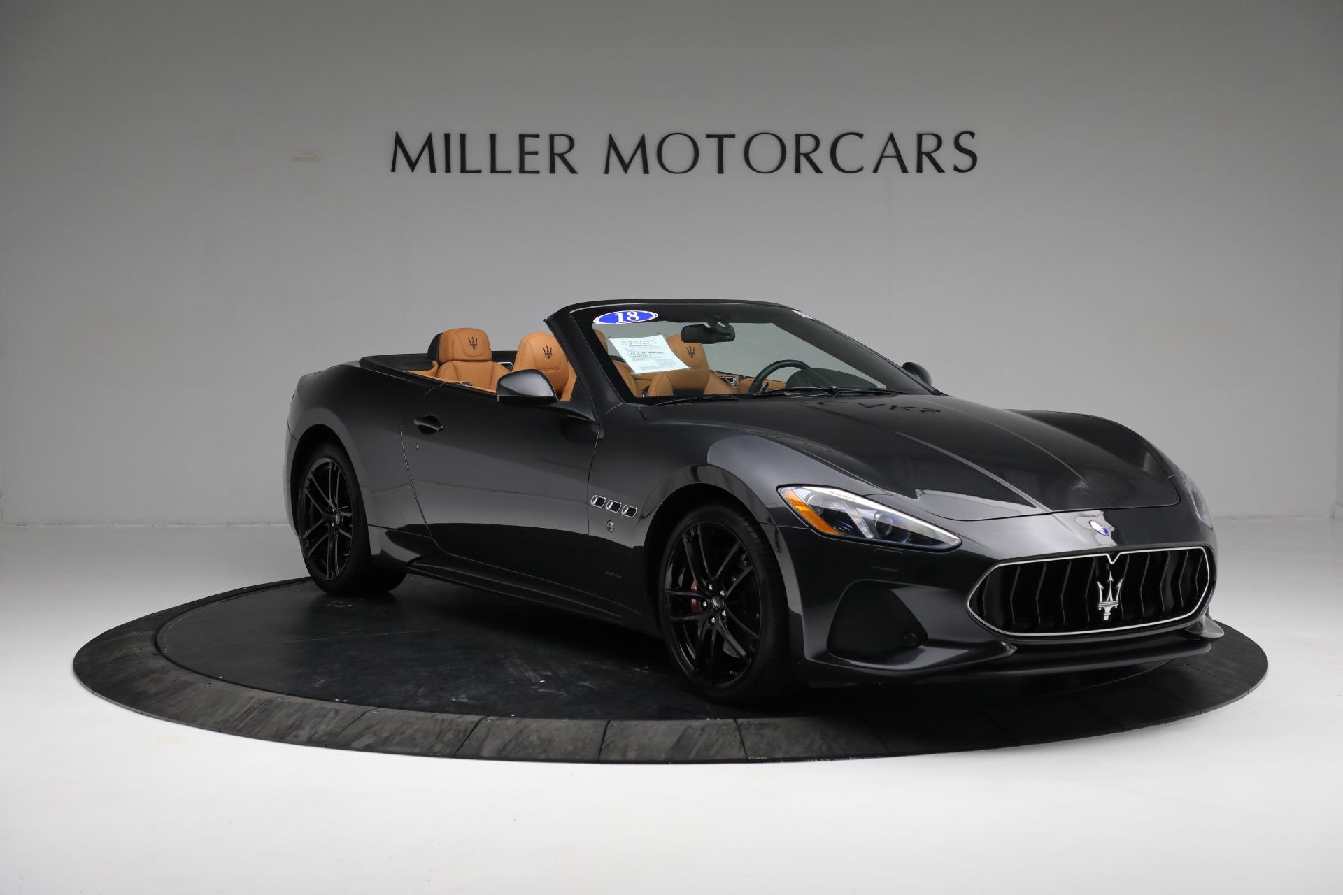 New 2018 Maserati GranTurismo Sport Convertible For Sale In Greenwich, CT. Alfa Romeo of Greenwich, M2101 2198_p21