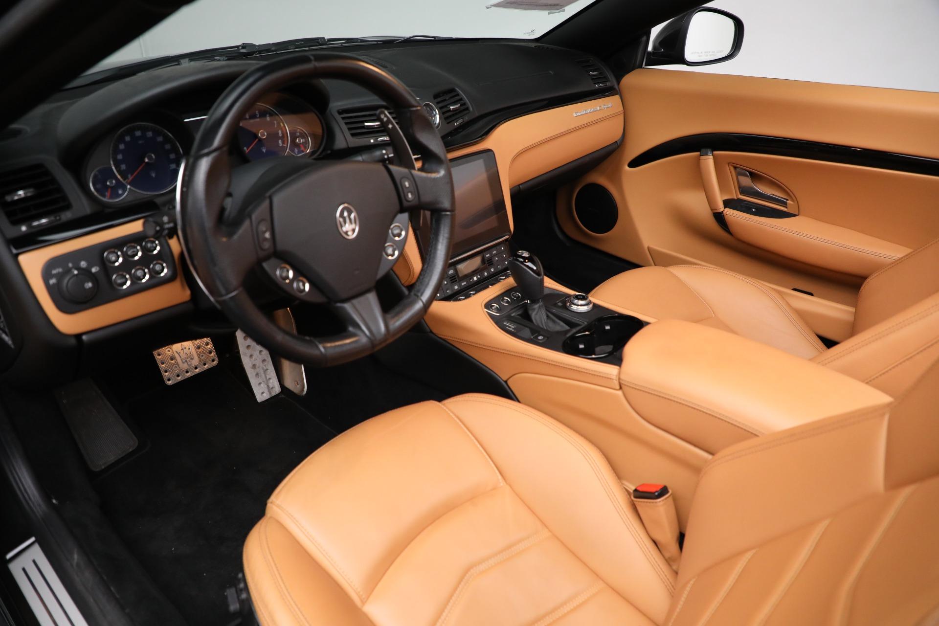 New 2018 Maserati GranTurismo Sport Convertible For Sale In Greenwich, CT. Alfa Romeo of Greenwich, M2101 2198_p24
