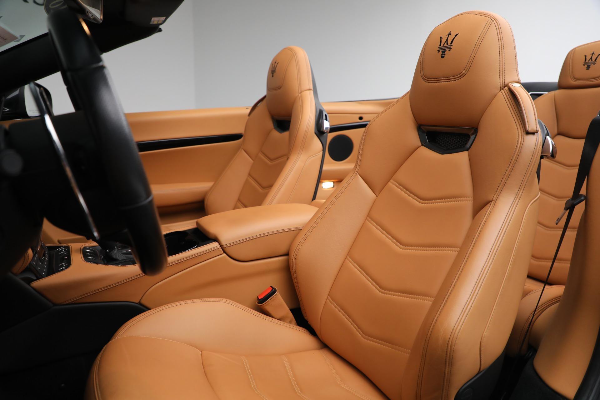 New 2018 Maserati GranTurismo Sport Convertible For Sale In Greenwich, CT. Alfa Romeo of Greenwich, M2101 2198_p25