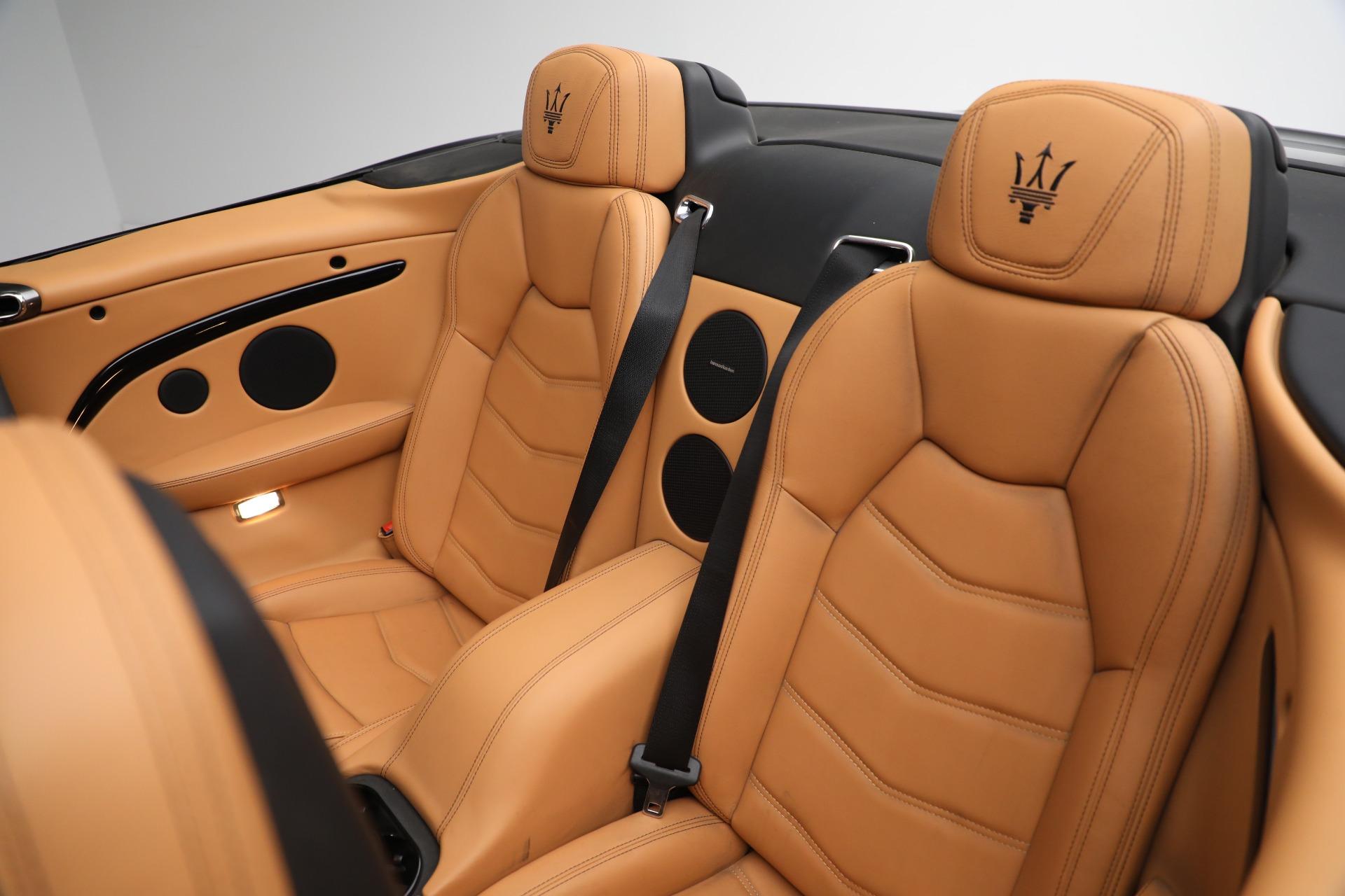 New 2018 Maserati GranTurismo Sport Convertible For Sale In Greenwich, CT. Alfa Romeo of Greenwich, M2101 2198_p30