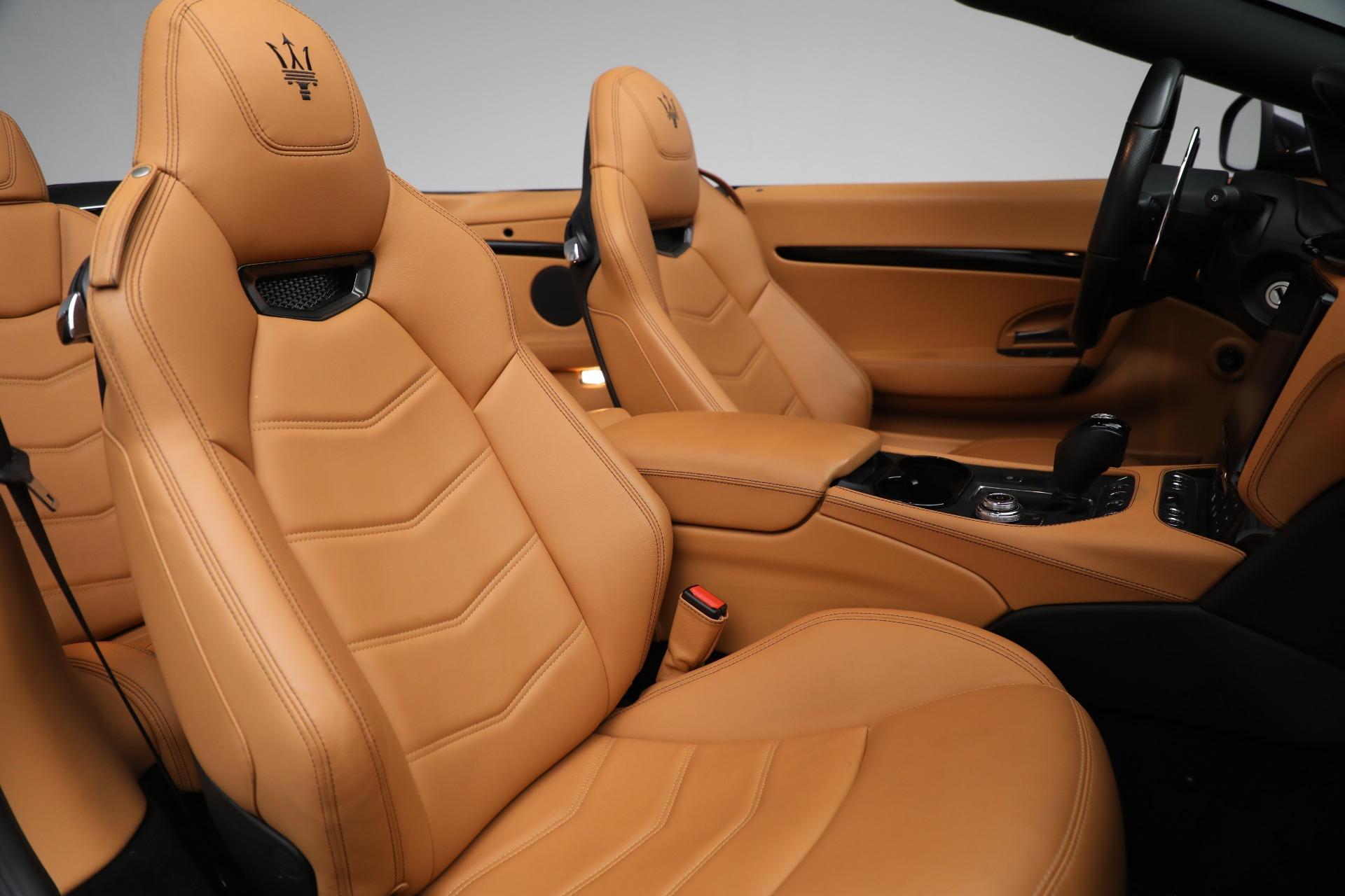 New 2018 Maserati GranTurismo Sport Convertible For Sale In Greenwich, CT. Alfa Romeo of Greenwich, M2101 2198_p31