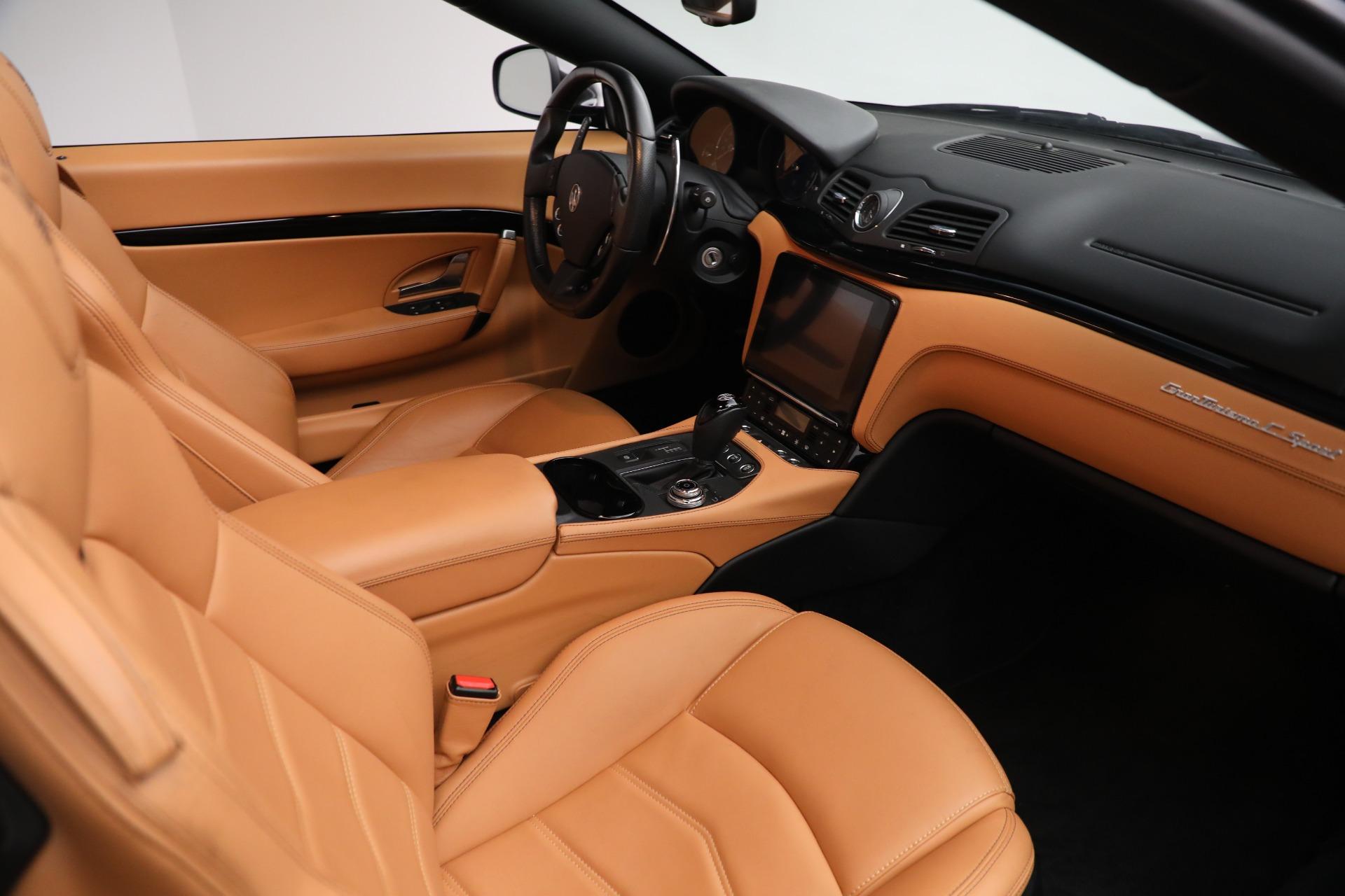 New 2018 Maserati GranTurismo Sport Convertible For Sale In Greenwich, CT. Alfa Romeo of Greenwich, M2101 2198_p33
