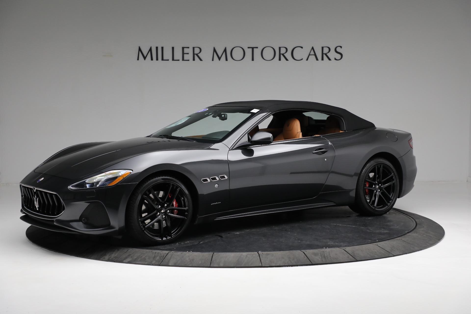 New 2018 Maserati GranTurismo Sport Convertible For Sale In Greenwich, CT. Alfa Romeo of Greenwich, M2101 2198_p4