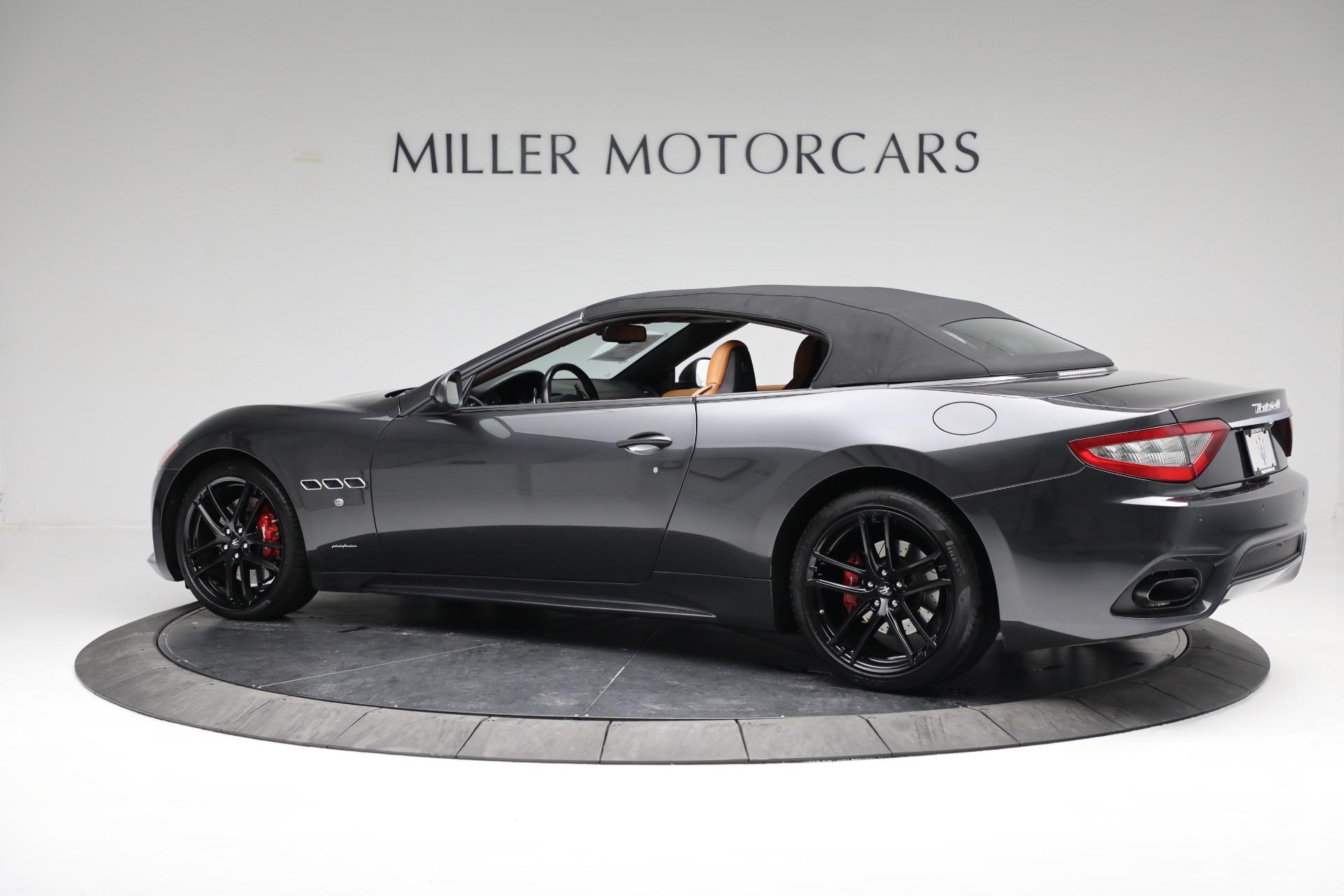 New 2018 Maserati GranTurismo Sport Convertible For Sale In Greenwich, CT. Alfa Romeo of Greenwich, M2101 2198_p8