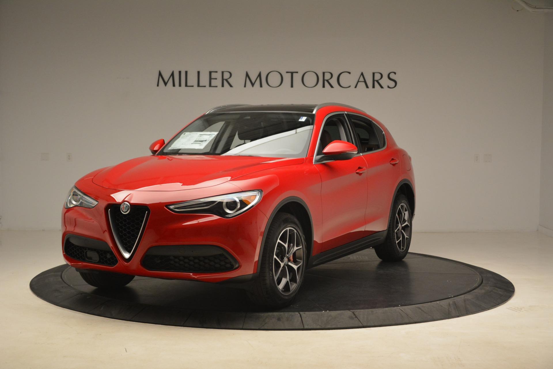 New 2018 Alfa Romeo Stelvio Ti Q4 For Sale In Greenwich, CT. Alfa Romeo of Greenwich, L391 2201_main