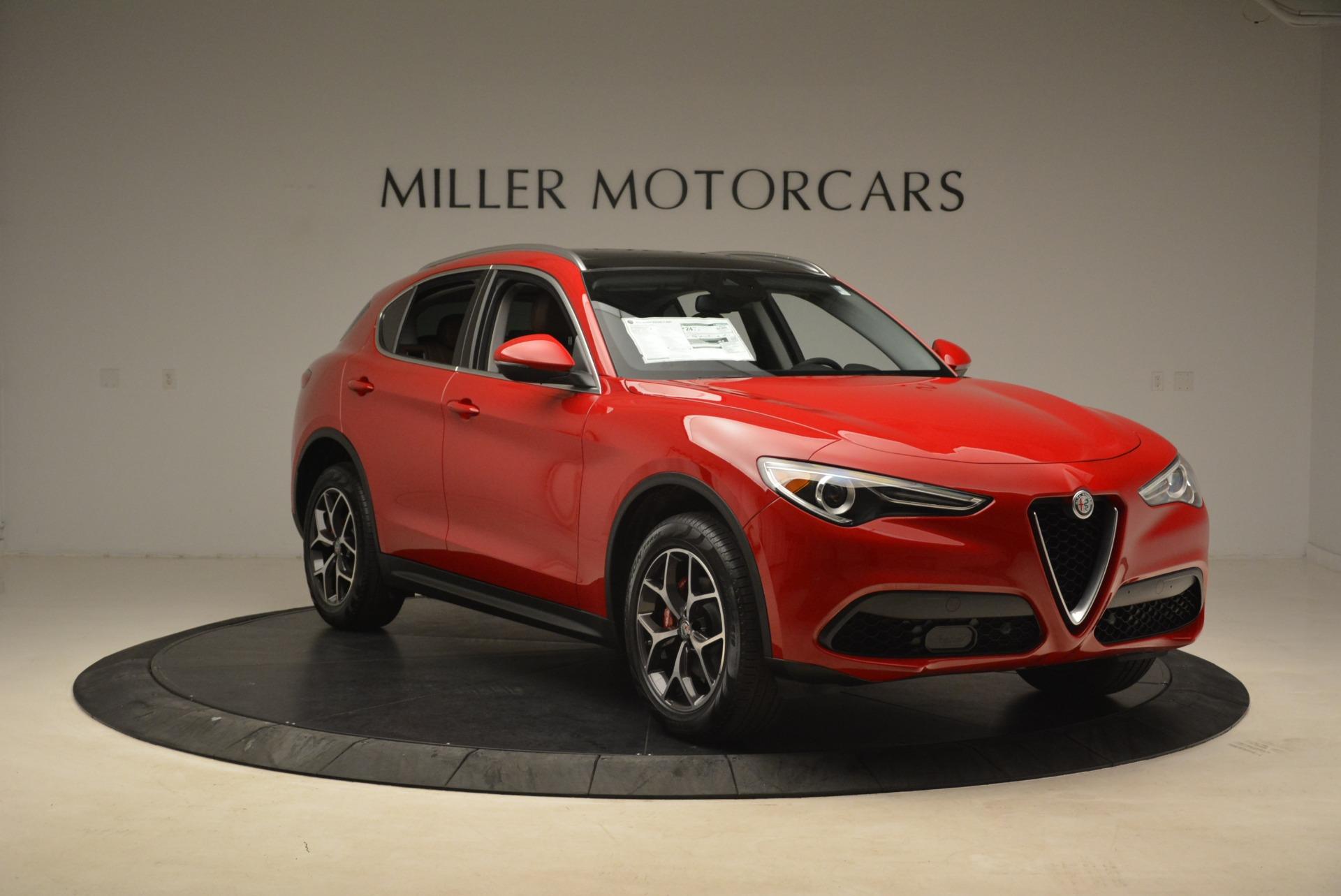 New 2018 Alfa Romeo Stelvio Ti Q4 For Sale In Greenwich, CT. Alfa Romeo of Greenwich, L391 2201_p11