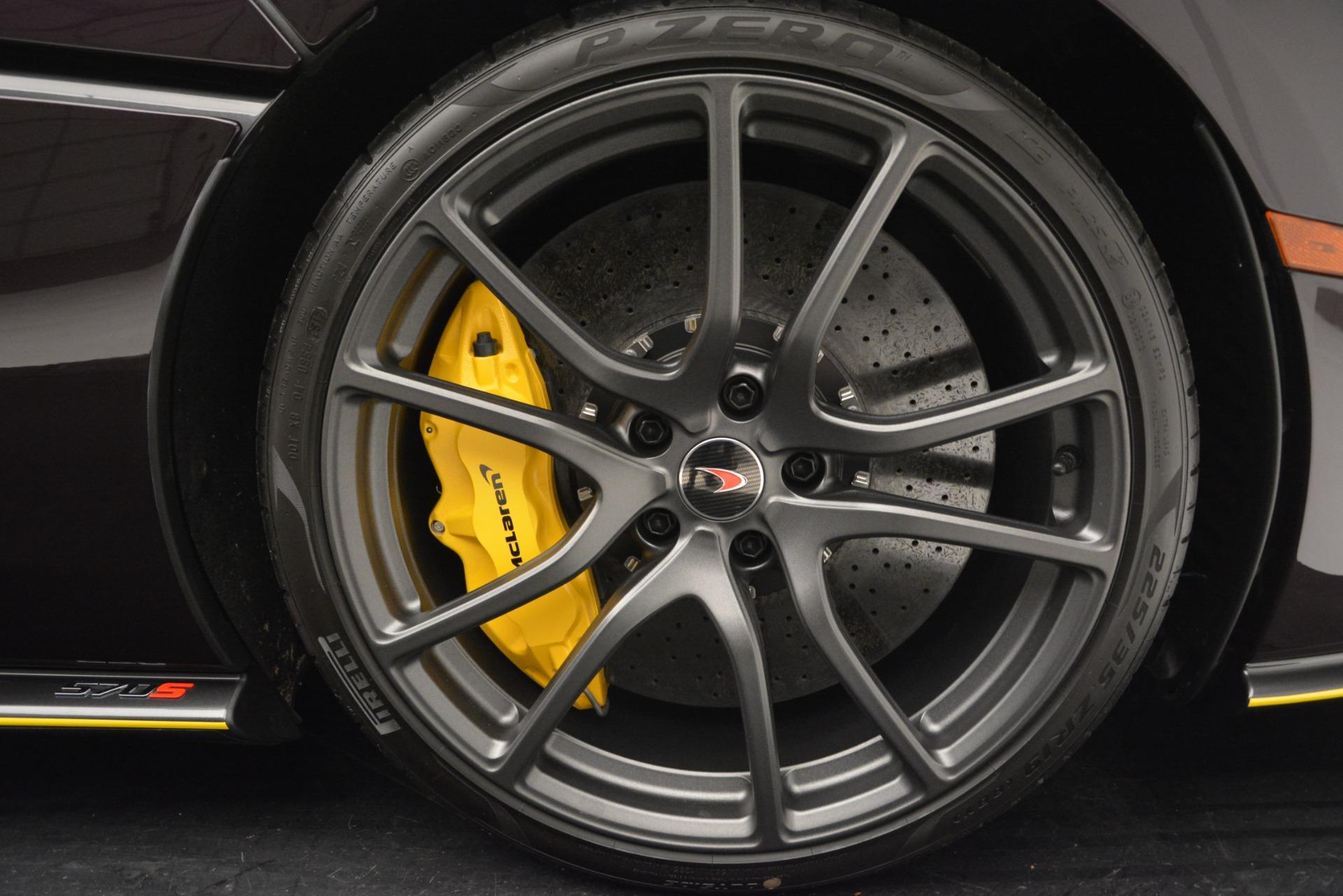 Used 2018 McLaren 570S  For Sale In Greenwich, CT. Alfa Romeo of Greenwich, MC353 2204_p21