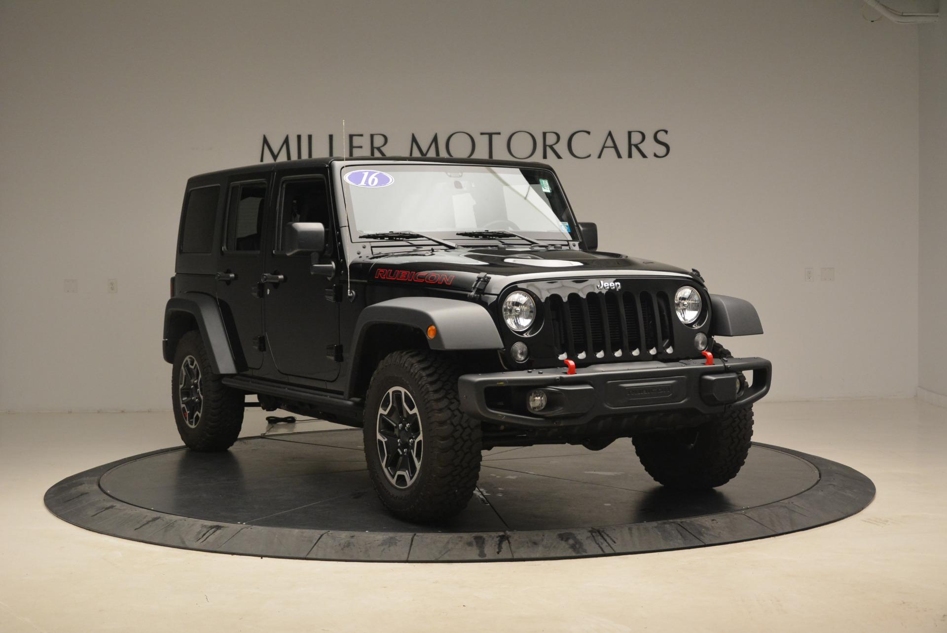 Used 2016 Jeep Wrangler Unlimited Rubicon For Sale In Greenwich, CT. Alfa Romeo of Greenwich, 7345A 2218_p11
