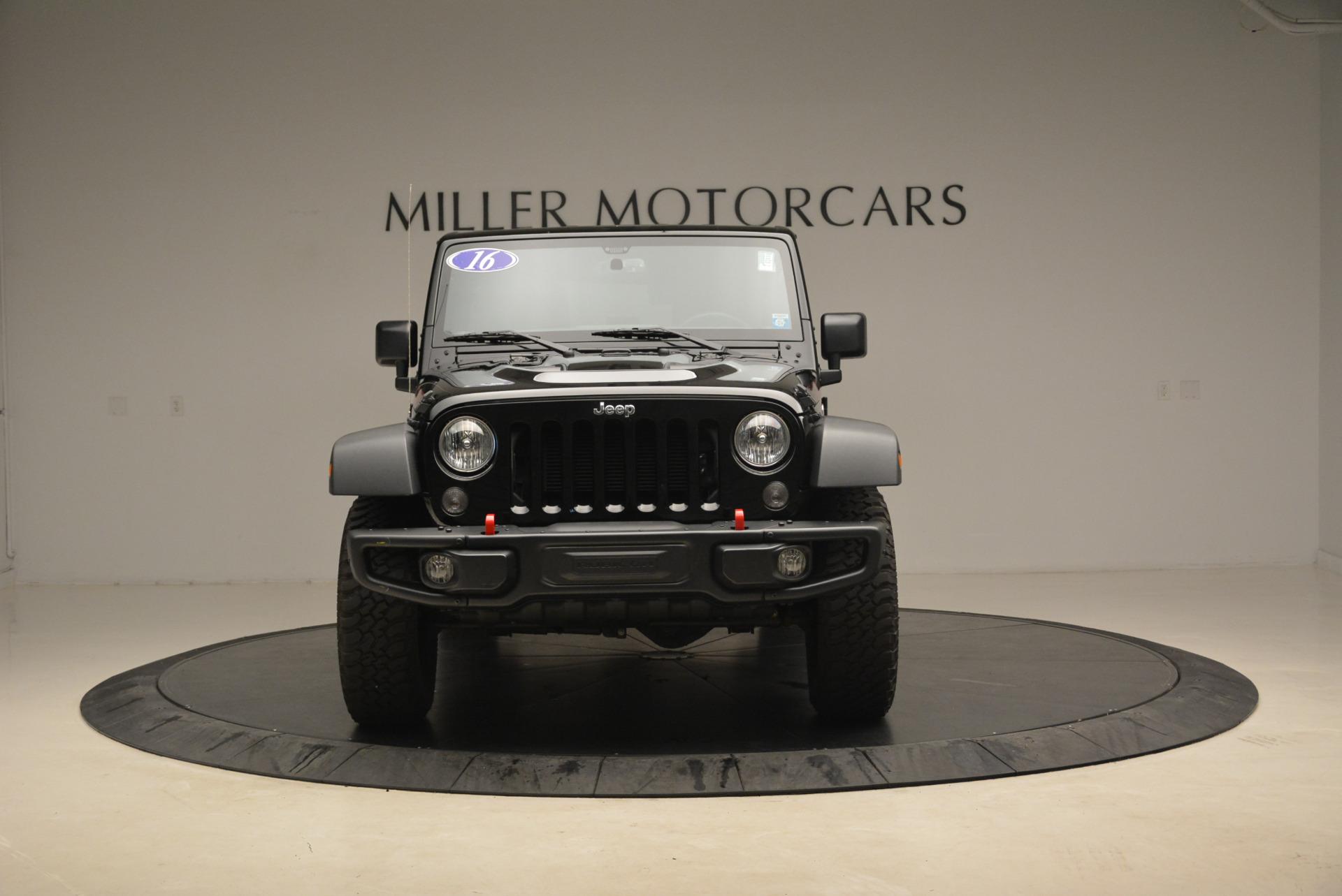 Used 2016 Jeep Wrangler Unlimited Rubicon For Sale In Greenwich, CT. Alfa Romeo of Greenwich, 7345A 2218_p12