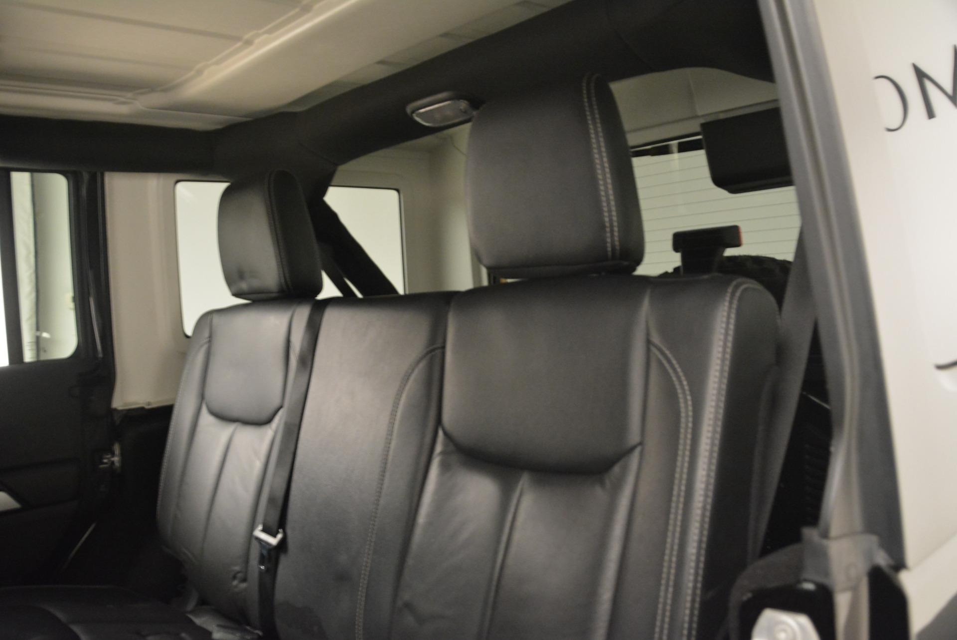 Used 2016 Jeep Wrangler Unlimited Rubicon For Sale In Greenwich, CT. Alfa Romeo of Greenwich, 7345A 2218_p18