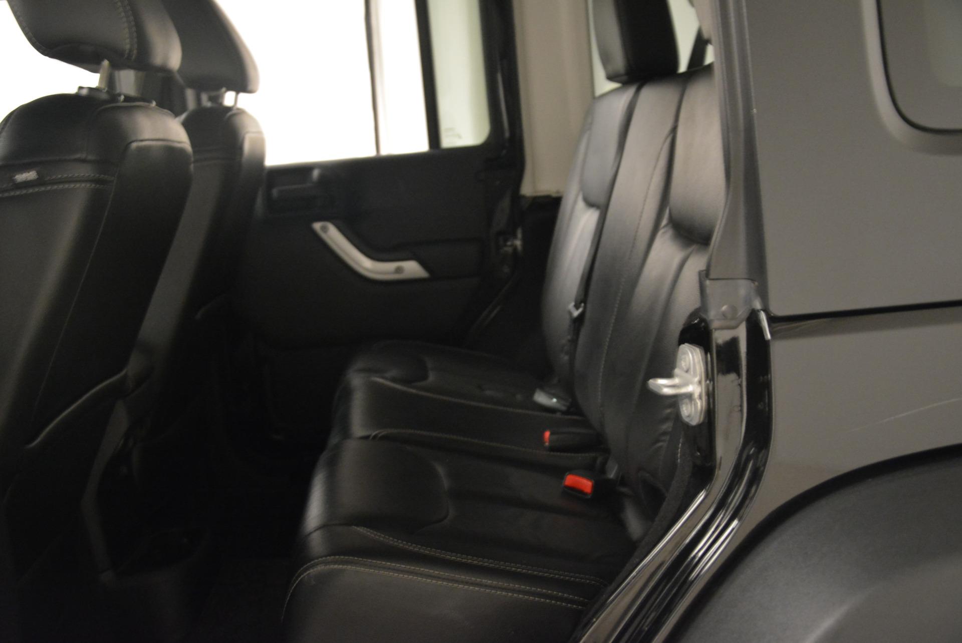Used 2016 Jeep Wrangler Unlimited Rubicon For Sale In Greenwich, CT. Alfa Romeo of Greenwich, 7345A 2218_p19