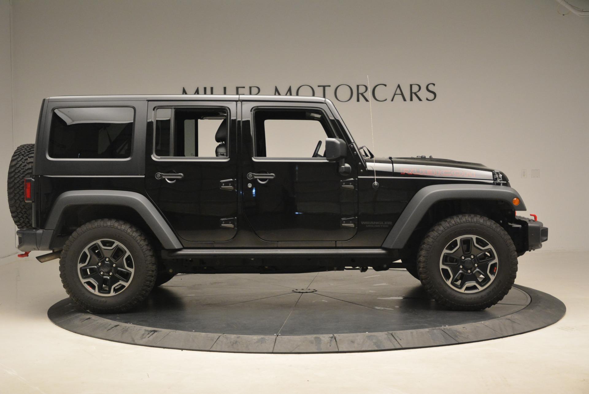 Used 2016 Jeep Wrangler Unlimited Rubicon For Sale In Greenwich, CT. Alfa Romeo of Greenwich, 7345A 2218_p9