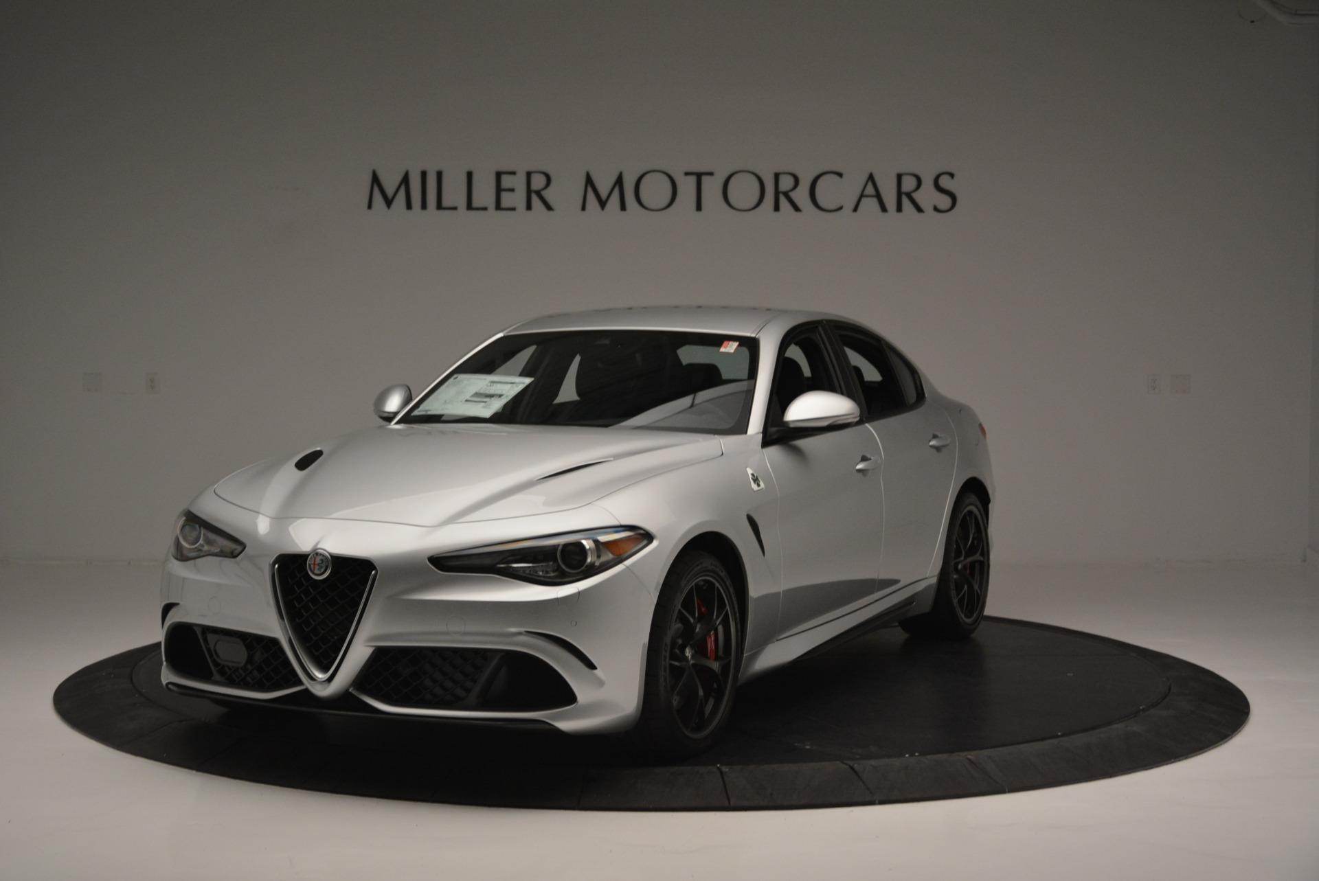 New 2018 Alfa Romeo Giulia Quadrifoglio For Sale In Greenwich, CT. Alfa Romeo of Greenwich, L397 2222_main