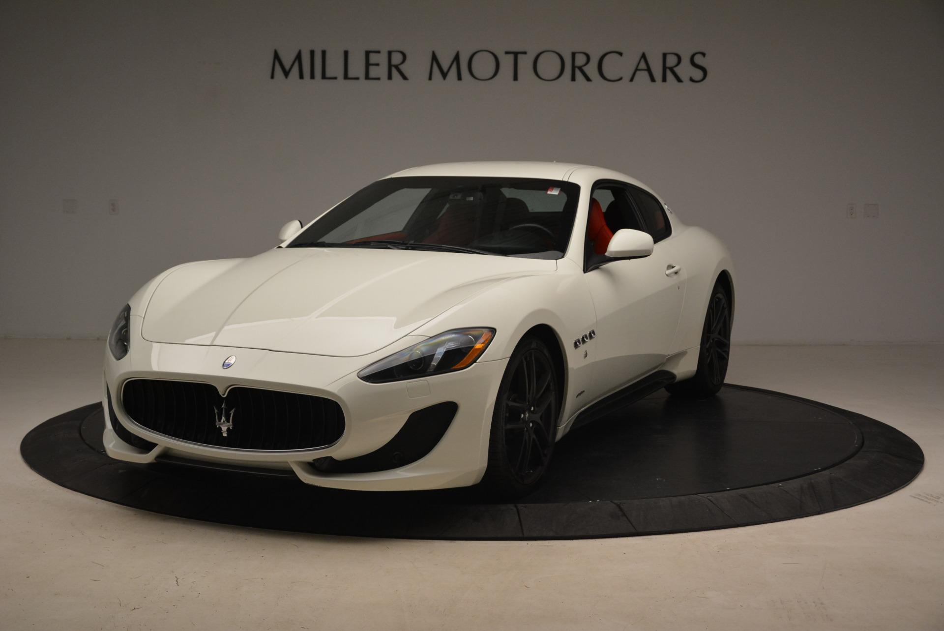 Used 2015 Maserati GranTurismo Sport For Sale In Greenwich, CT. Alfa Romeo of Greenwich, 7367 2233_main