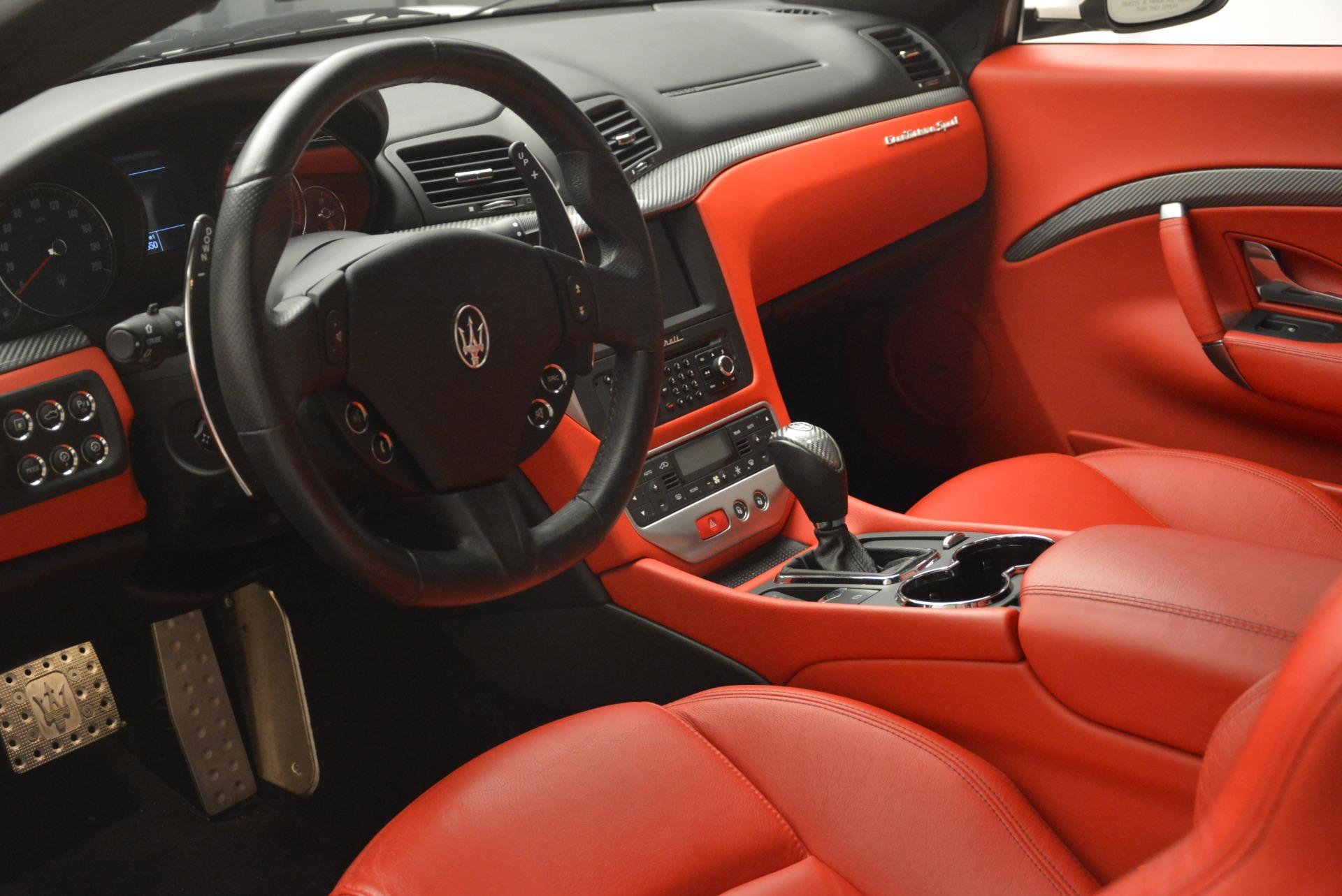 Used 2015 Maserati GranTurismo Sport For Sale In Greenwich, CT. Alfa Romeo of Greenwich, 7367 2233_p13