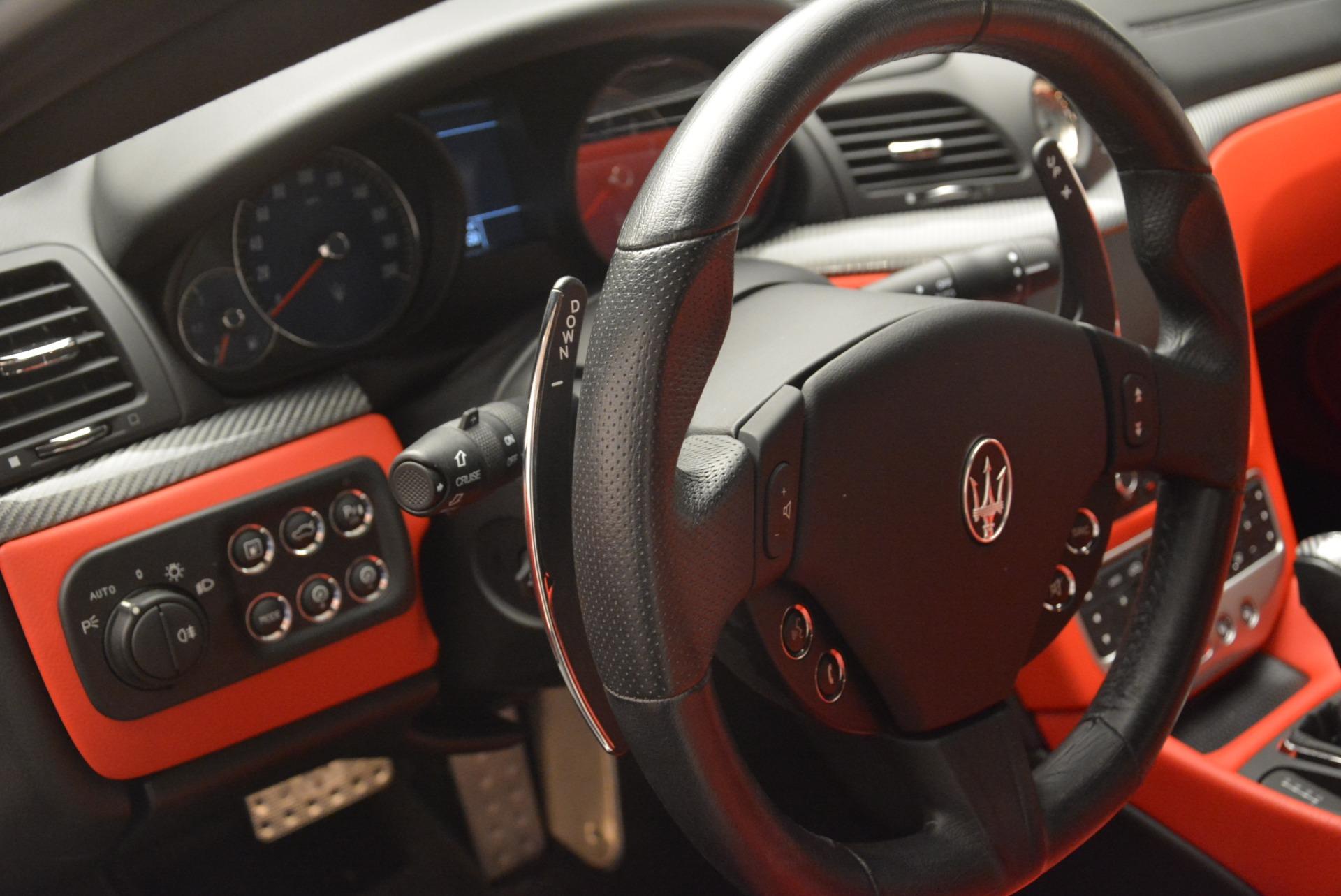 Used 2015 Maserati GranTurismo Sport For Sale In Greenwich, CT. Alfa Romeo of Greenwich, 7367 2233_p16