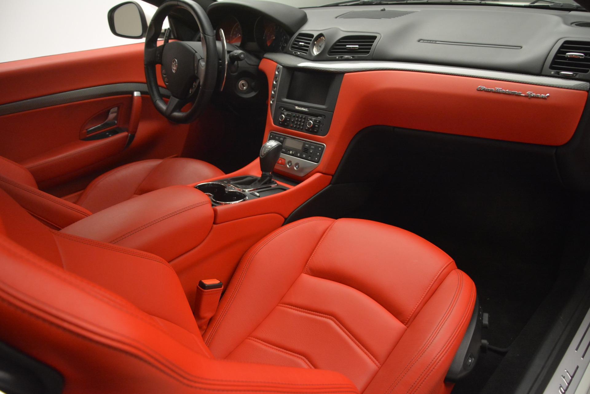 Used 2015 Maserati GranTurismo Sport For Sale In Greenwich, CT. Alfa Romeo of Greenwich, 7367 2233_p19