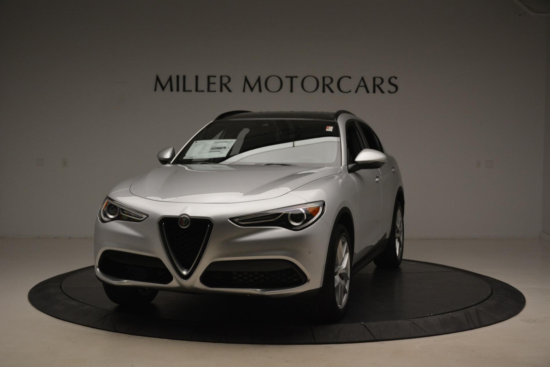 New 2018 Alfa Romeo Stelvio Ti Sport Q4 For Sale In Greenwich, CT. Alfa Romeo of Greenwich, L409 2247_main