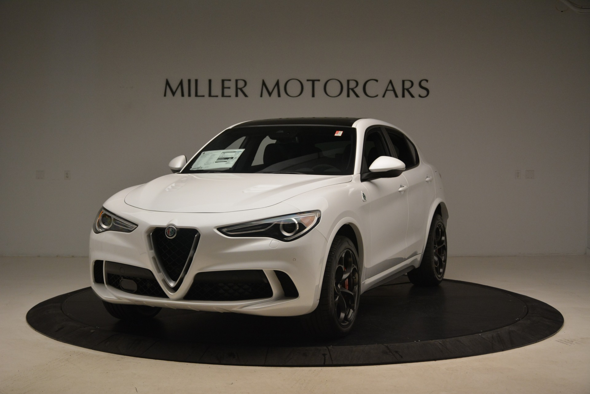 New 2018 Alfa Romeo Stelvio Quadrifoglio For Sale In Greenwich, CT. Alfa Romeo of Greenwich, L407 2254_main