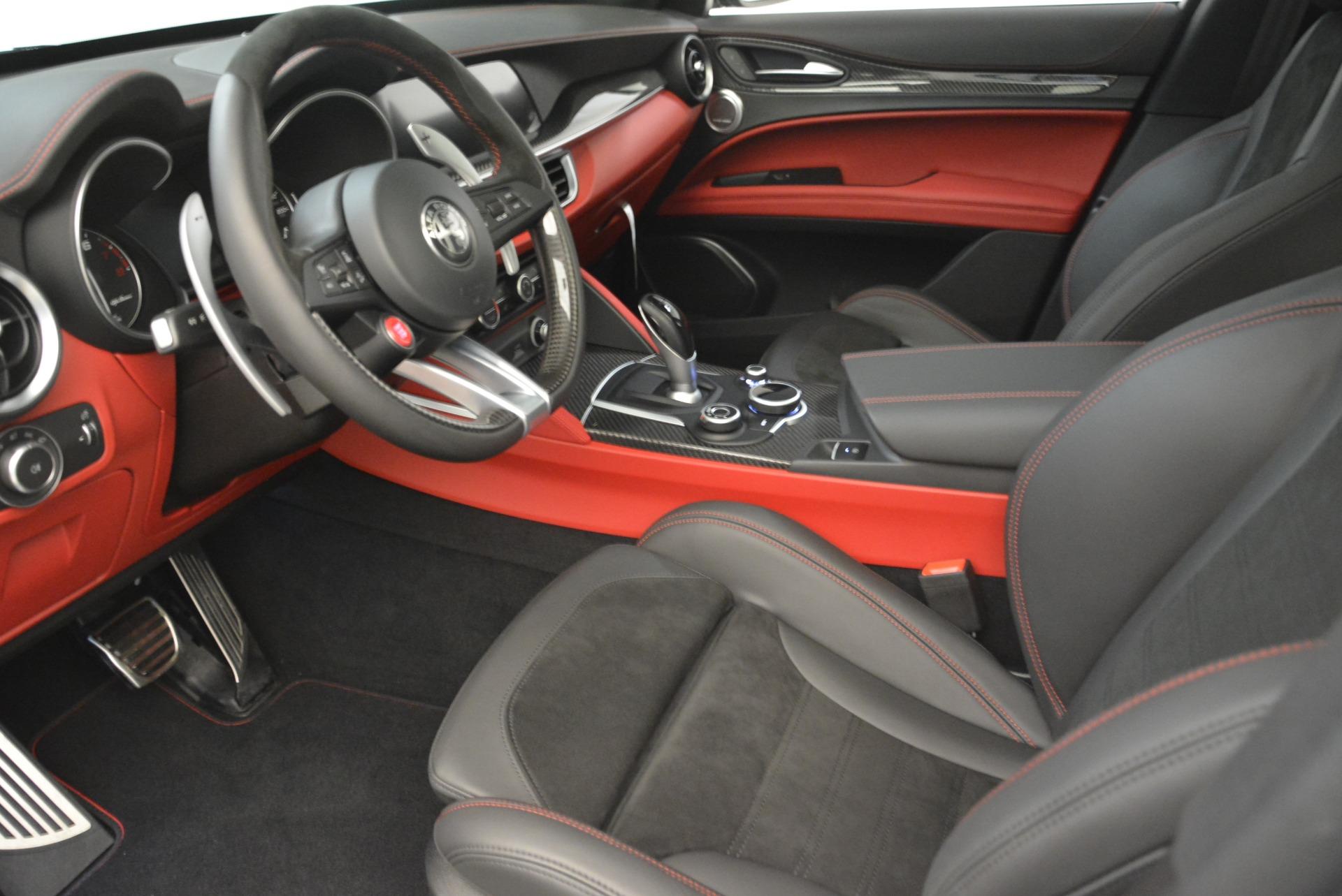 New 2018 Alfa Romeo Stelvio Quadrifoglio For Sale In Greenwich, CT. Alfa Romeo of Greenwich, L407 2254_p14
