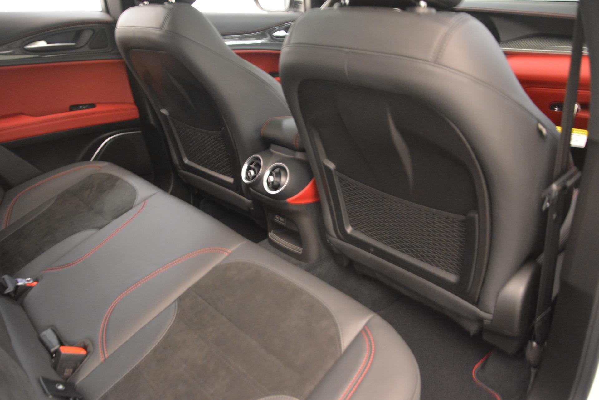 New 2018 Alfa Romeo Stelvio Quadrifoglio For Sale In Greenwich, CT. Alfa Romeo of Greenwich, L407 2254_p23