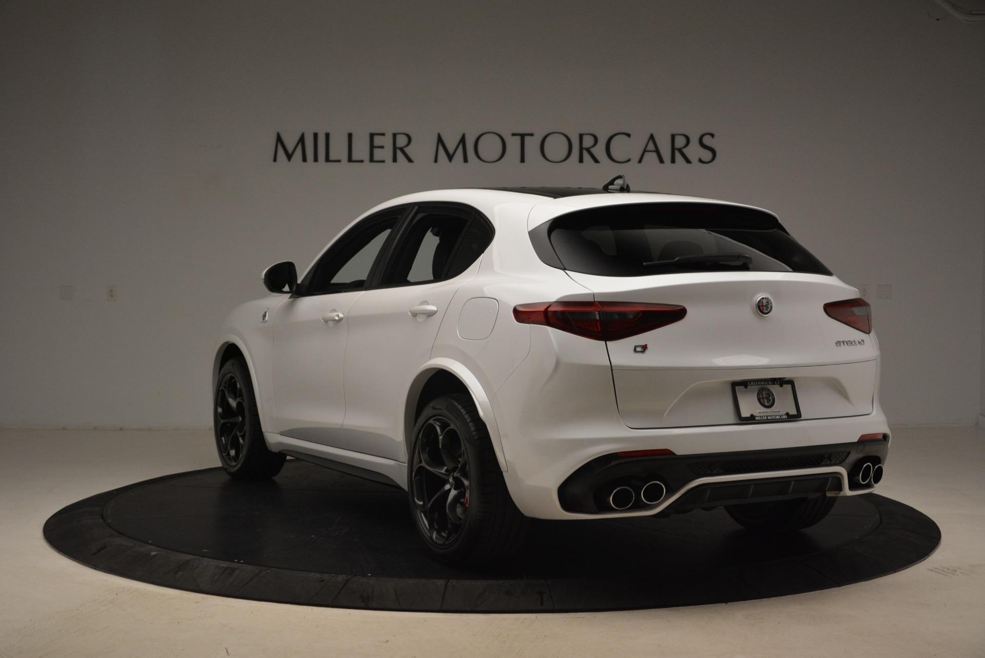 New 2018 Alfa Romeo Stelvio Quadrifoglio For Sale In Greenwich, CT. Alfa Romeo of Greenwich, L407 2254_p5